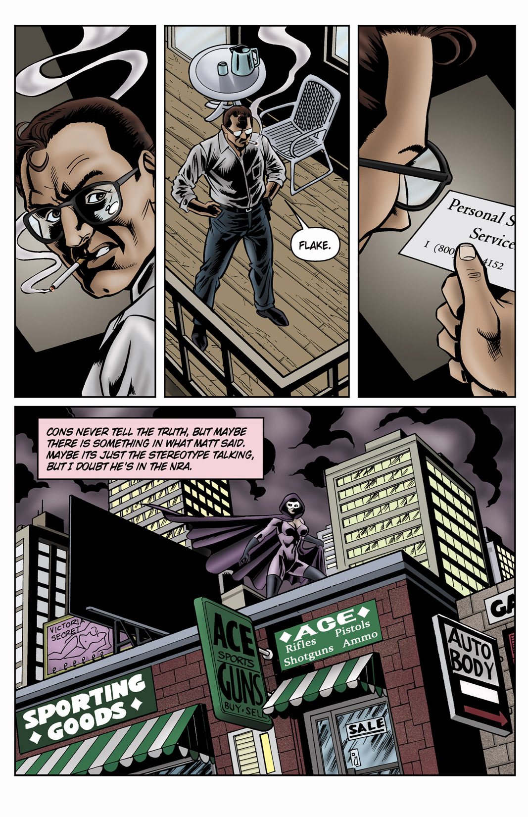 Read online SideChicks comic -  Issue #4 - 27