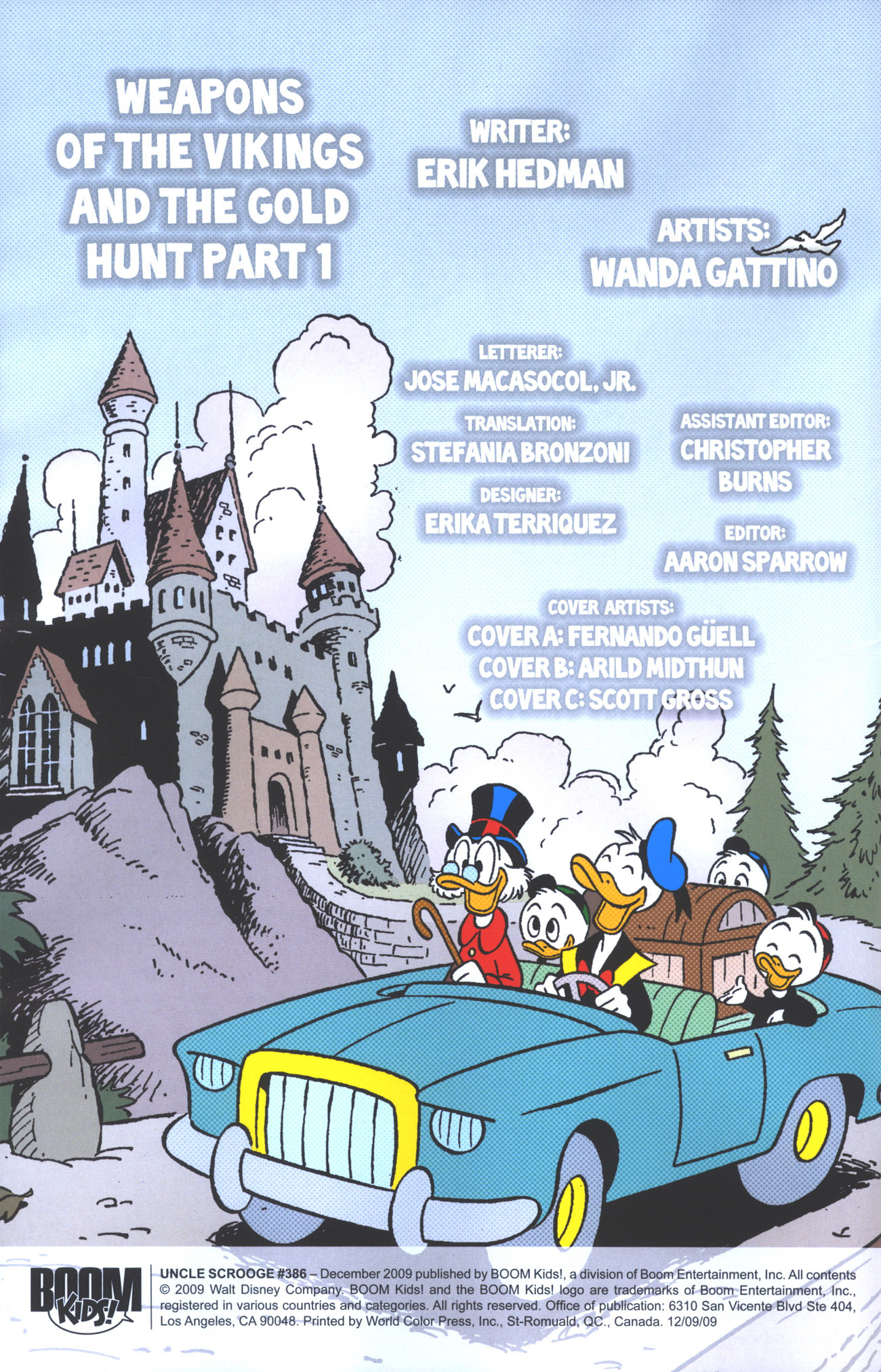Read online Uncle Scrooge (1953) comic -  Issue #386 - 3