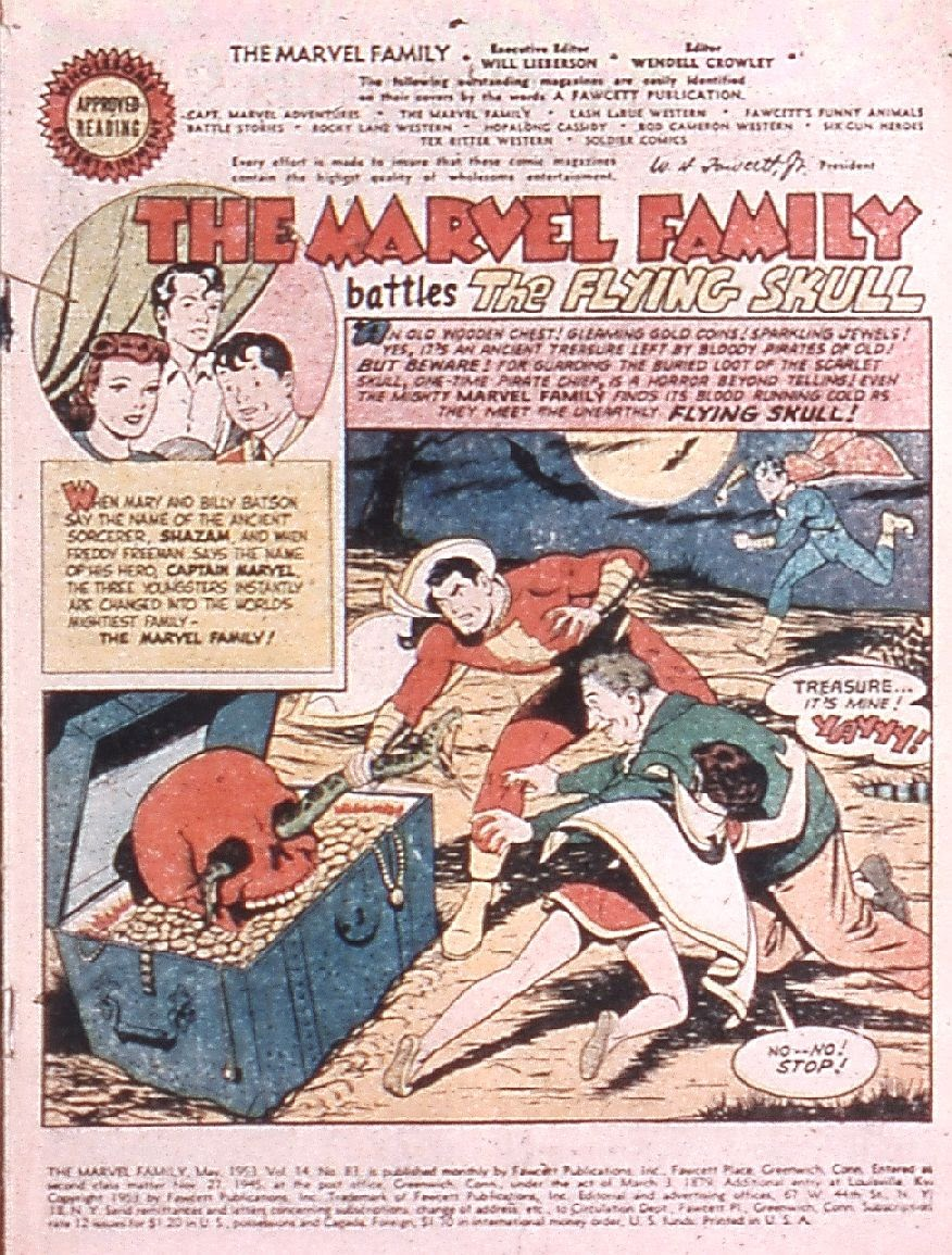 The Marvel Family issue 83 - Page 3