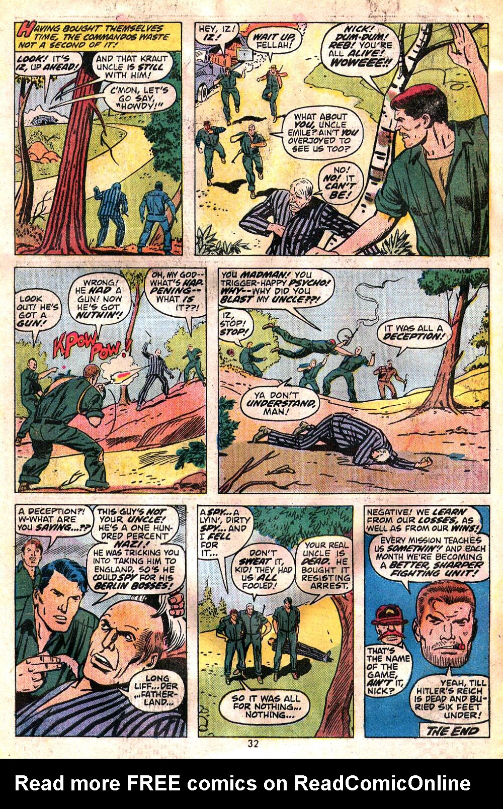 Read online Sgt. Fury comic -  Issue #120 - 34