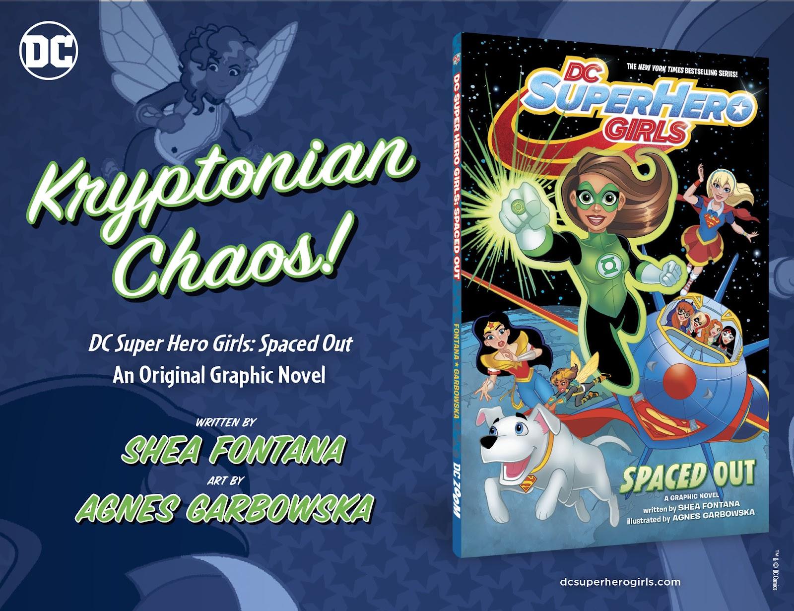 Read online DC Super Hero Girls: Weird Science comic -  Issue #11 - 24