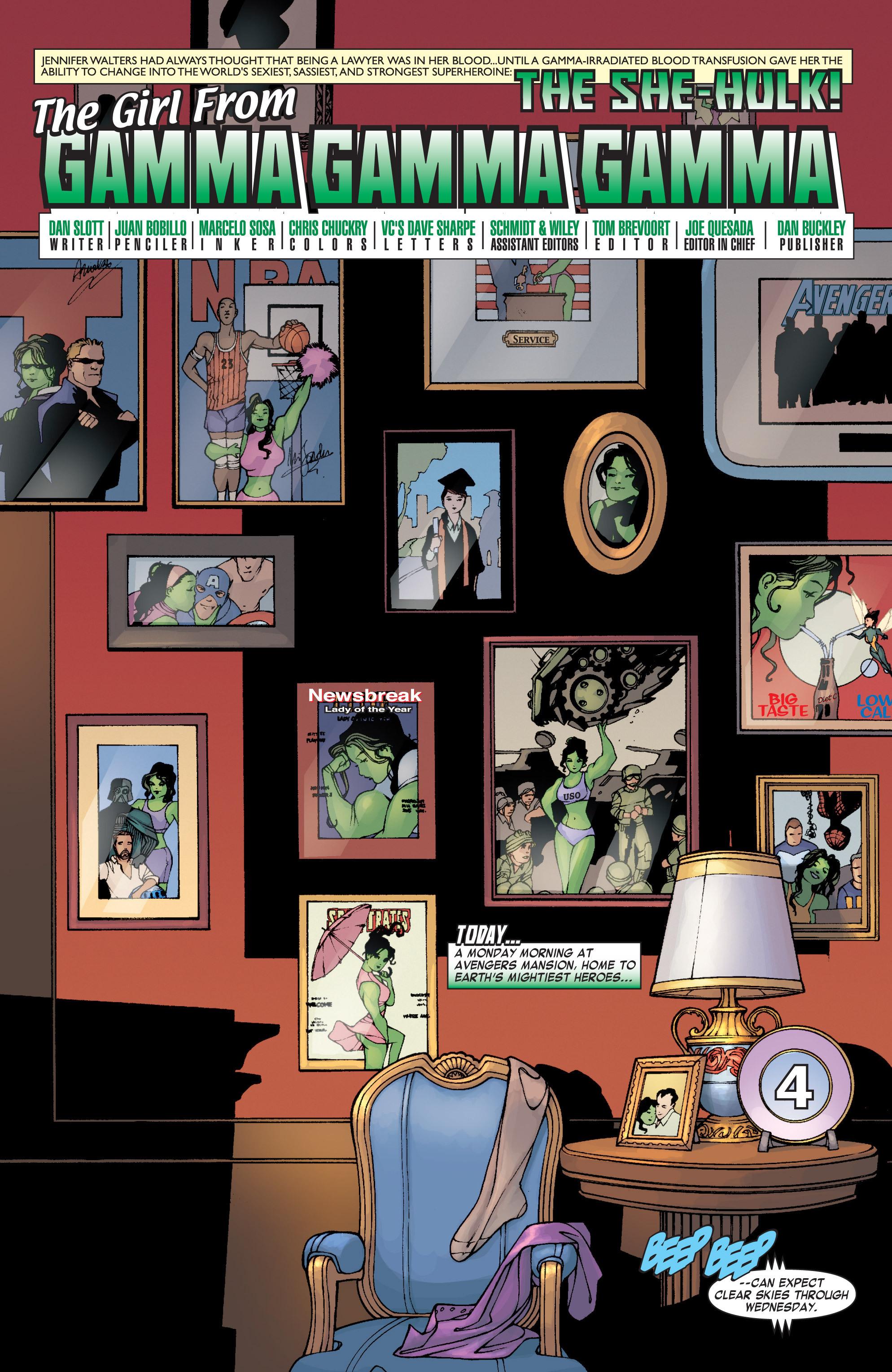 Read online She-Hulk (2004) comic -  Issue #1 - 4