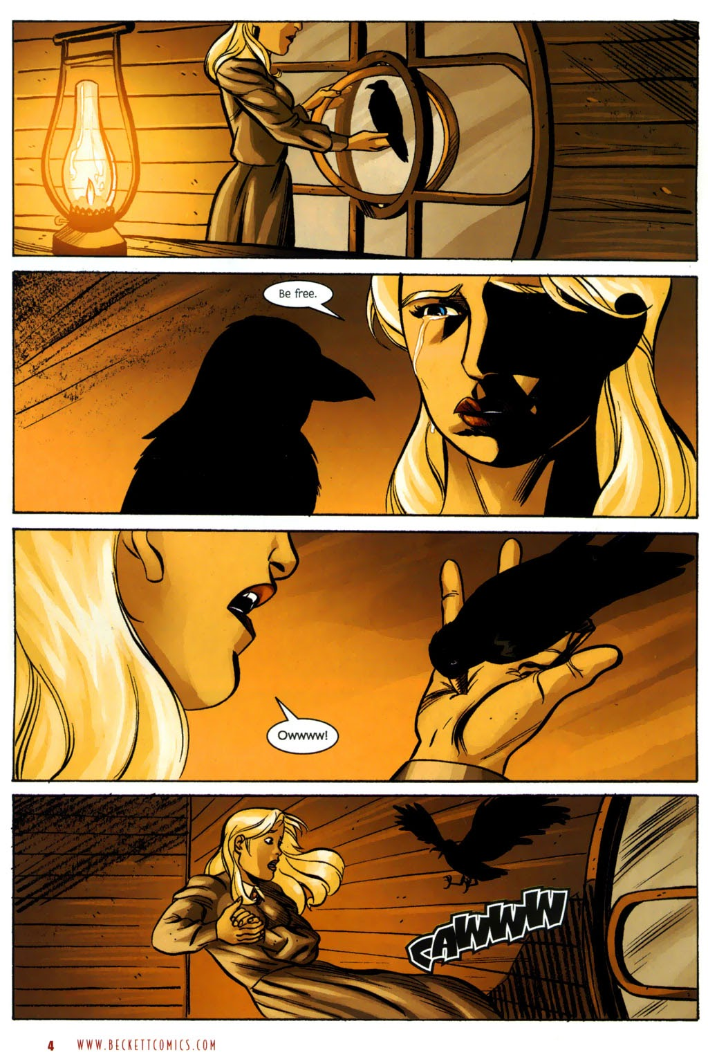 Read online The Ballad of Sleeping Beauty comic -  Issue #7 - 6