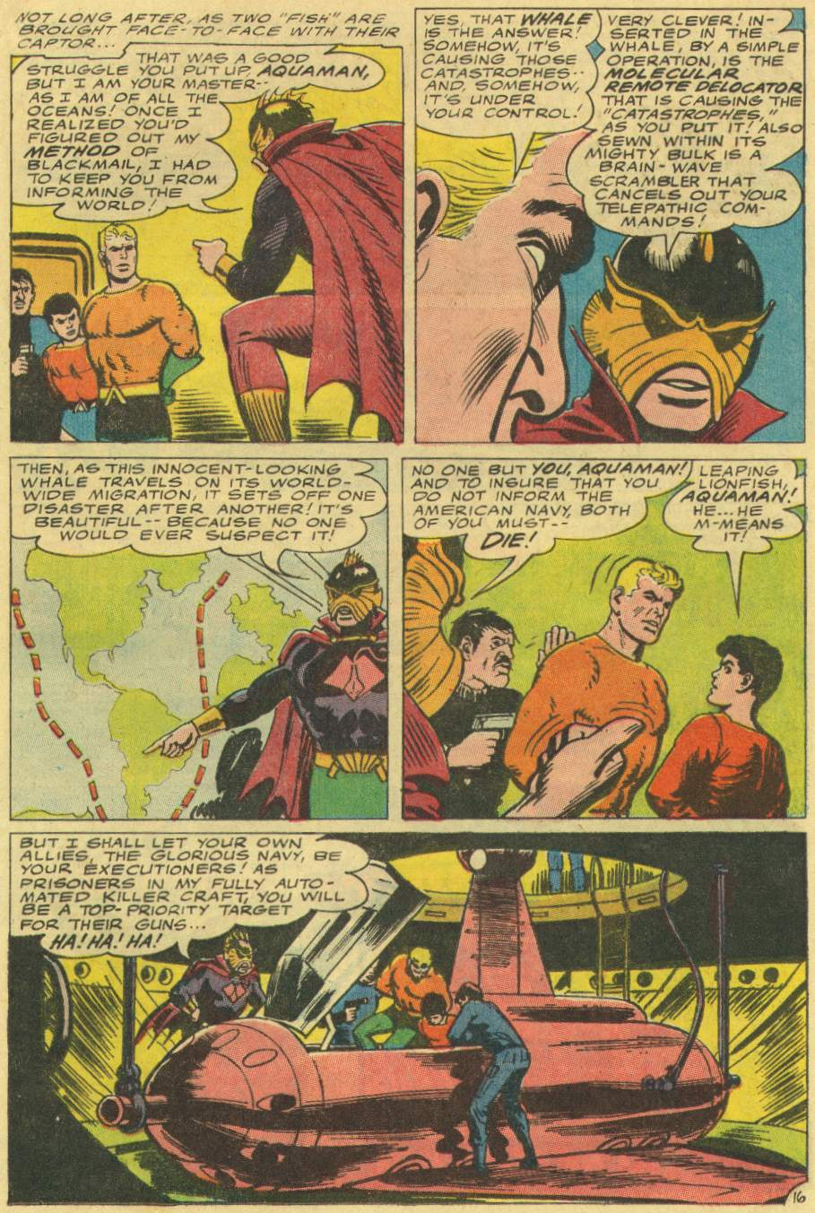 Read online Aquaman (1962) comic -  Issue #29 - 21