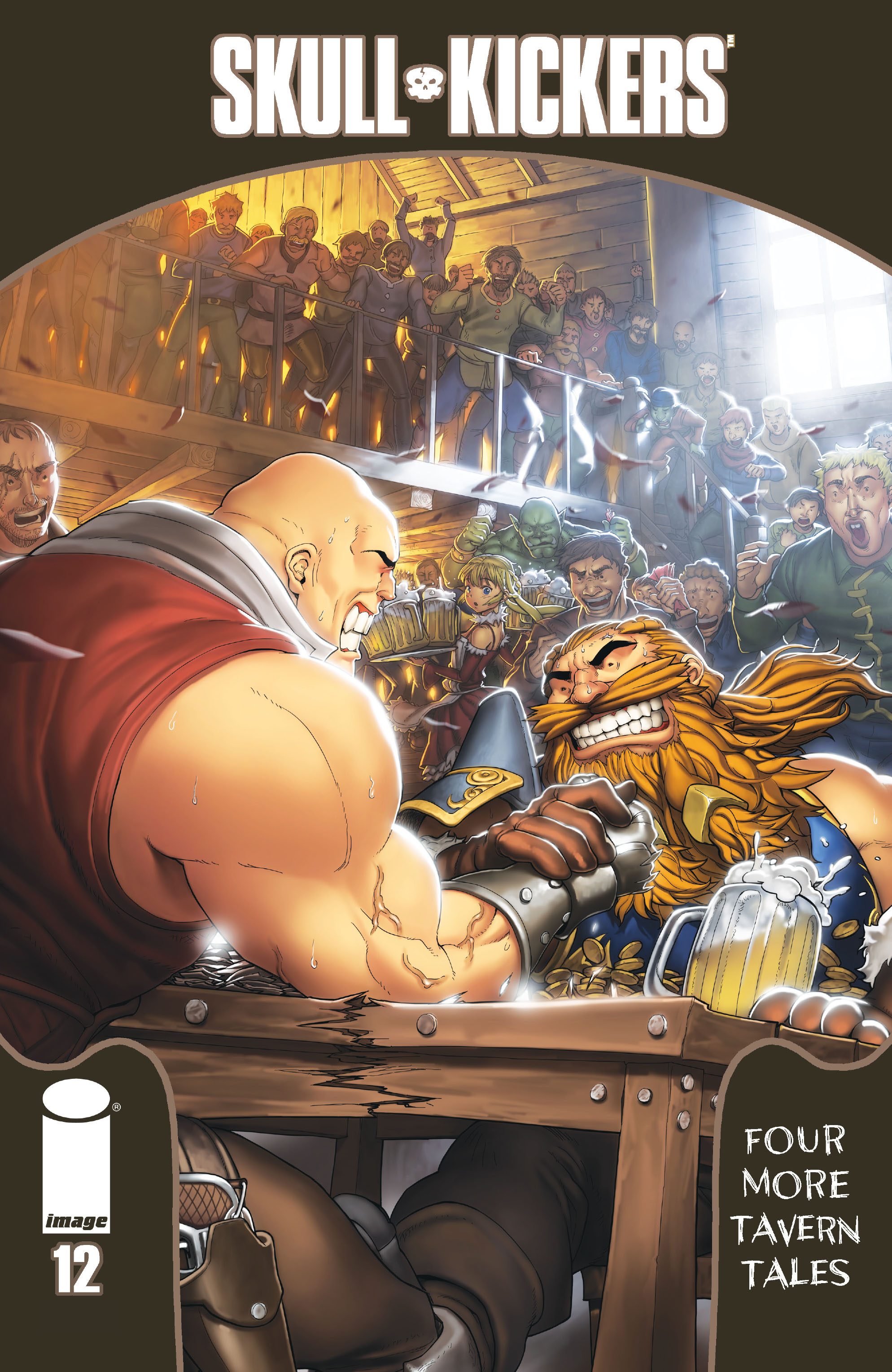 Read online Skullkickers comic -  Issue #12 - 1