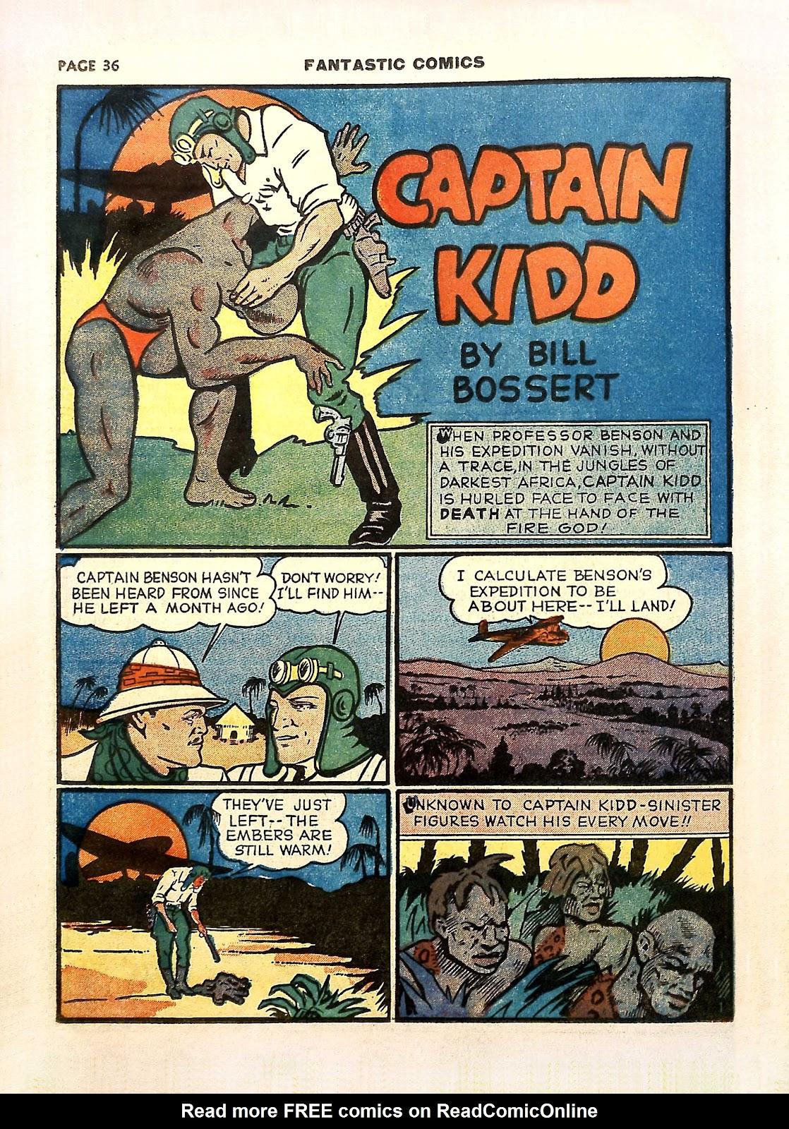 Read online Fantastic Comics comic -  Issue #11 - 39