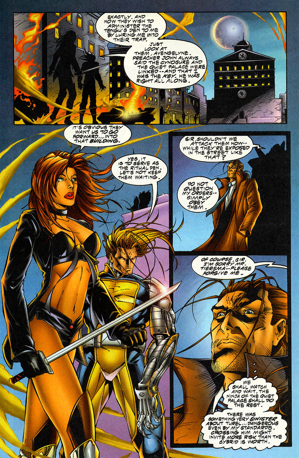 Read online Avengelyne (1996) comic -  Issue #5 - 10