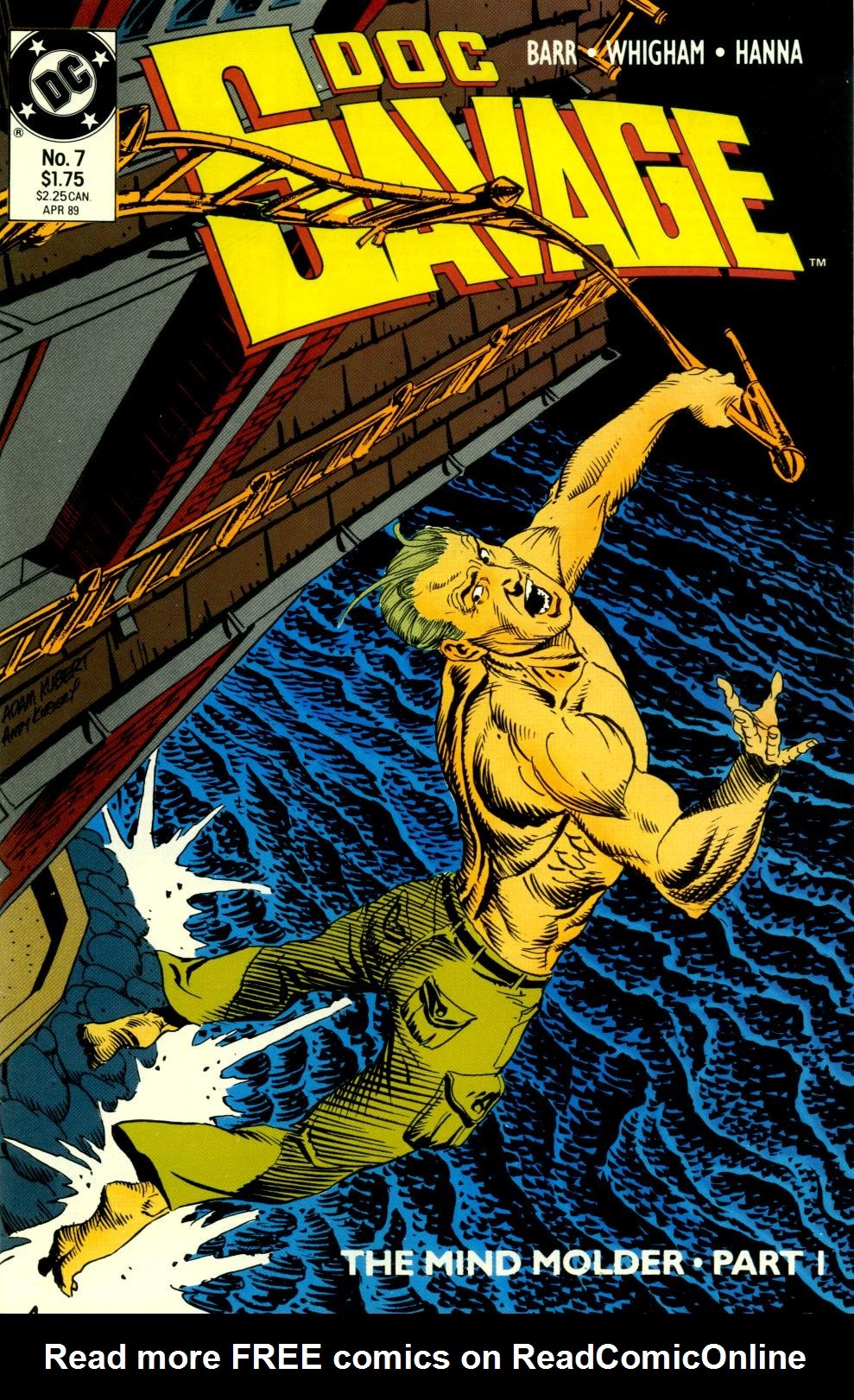 Doc Savage (1988) issue 7 - Page 1
