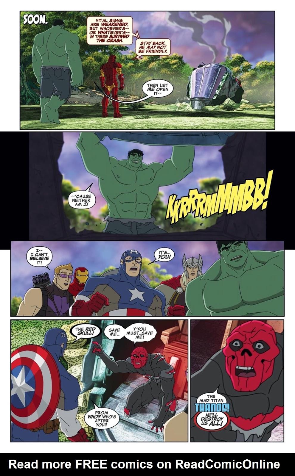 Read online Marvel Universe Avengers Assemble Season 2 comic -  Issue #1 - 6