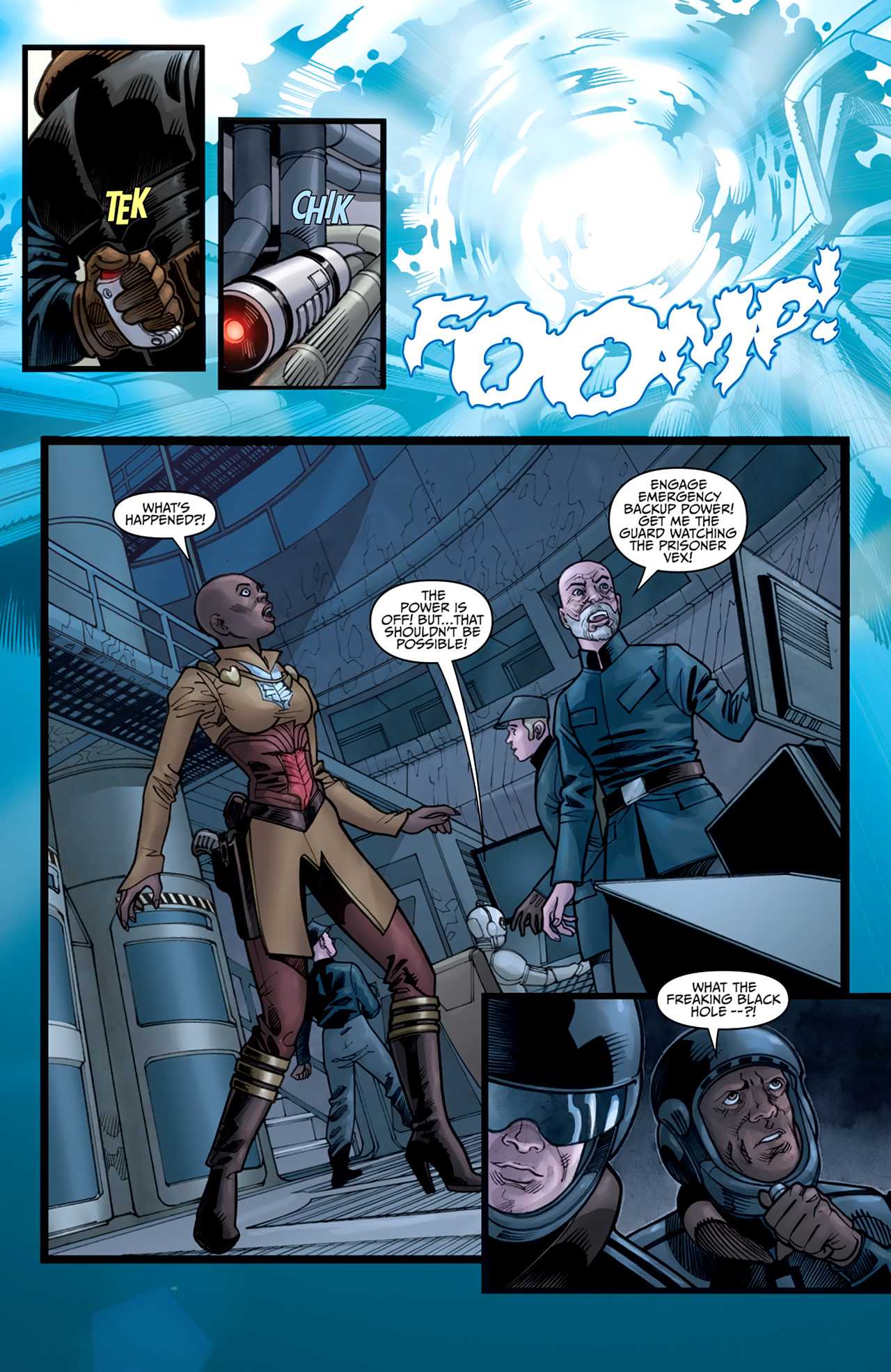 Read online Star Wars: Agent Of The Empire - Hard Targets comic -  Issue #3 - 17