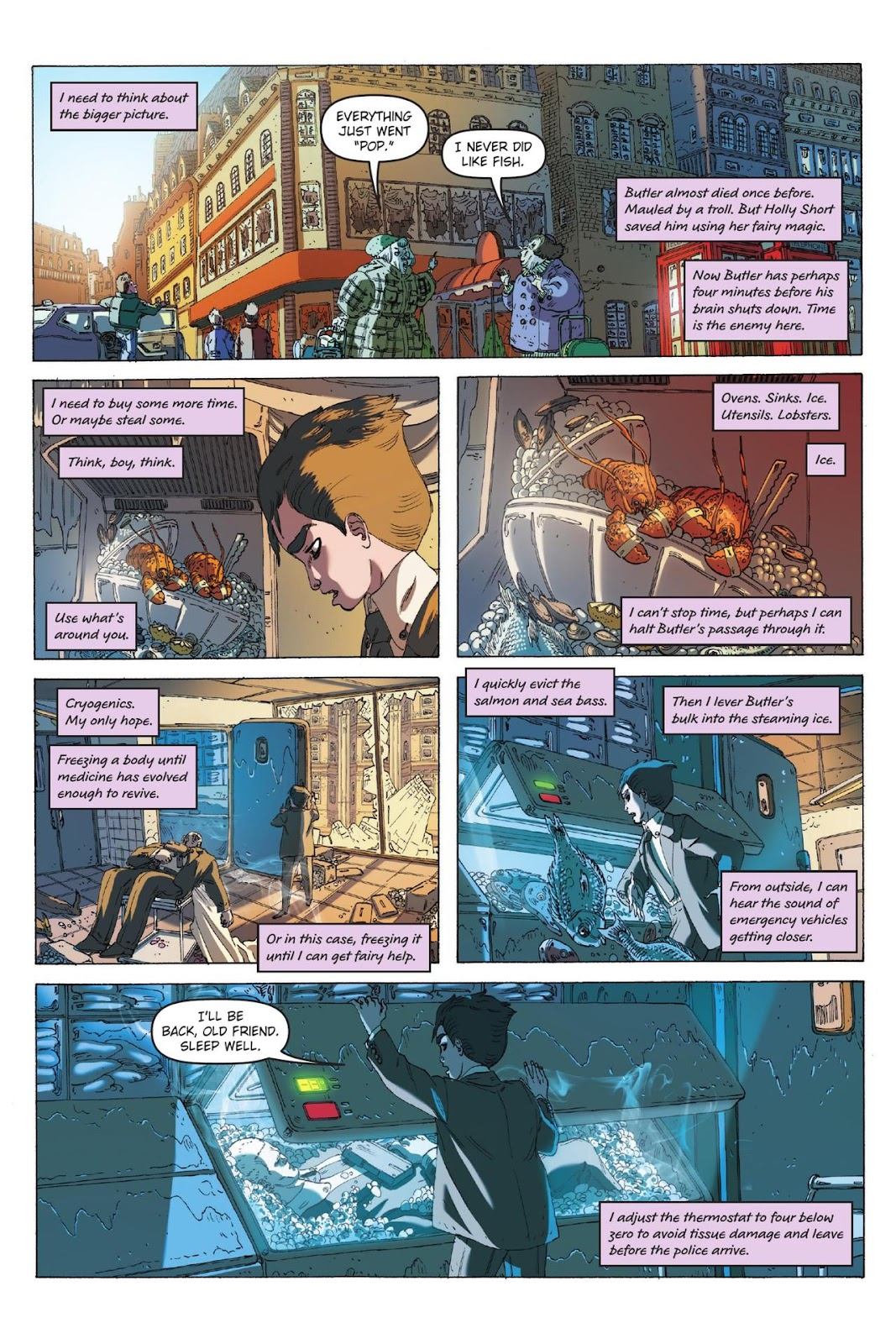Artemis Fowl: The Eternity Code issue TPB - Page 27