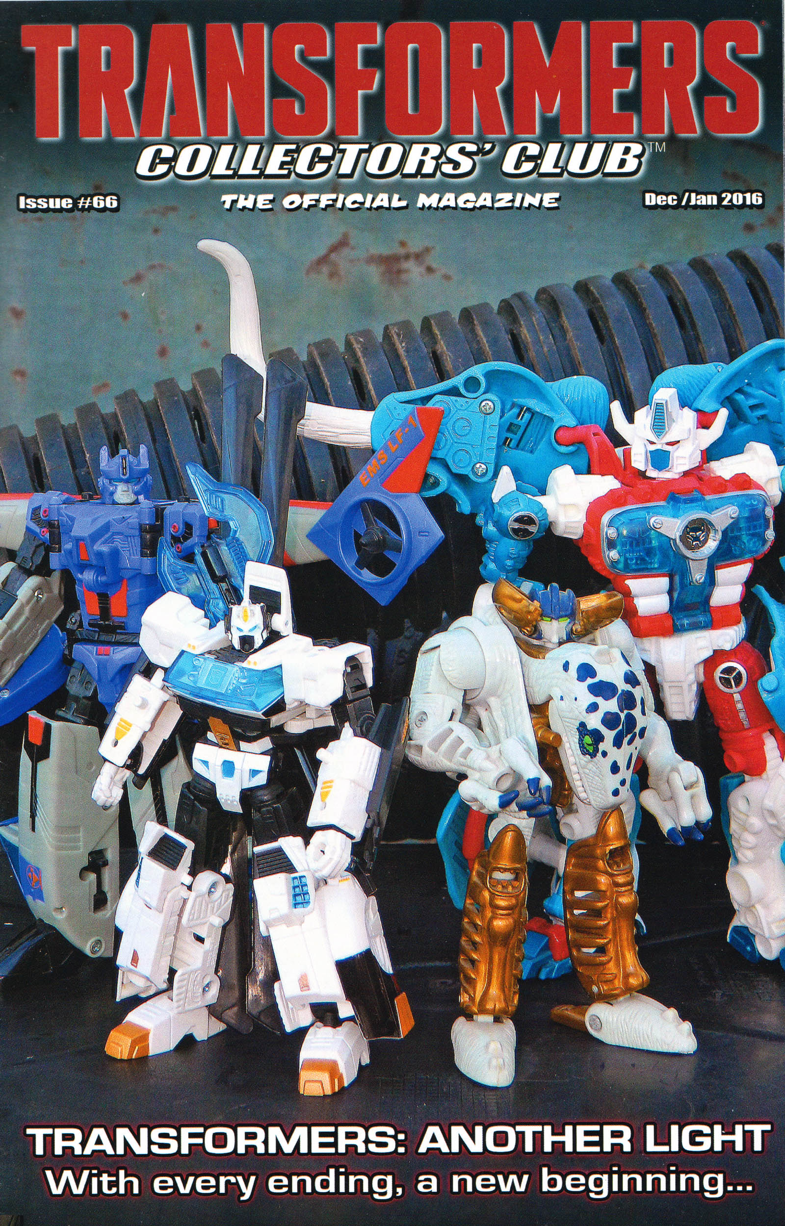 Read online Transformers: Collectors' Club comic -  Issue #66 - 1