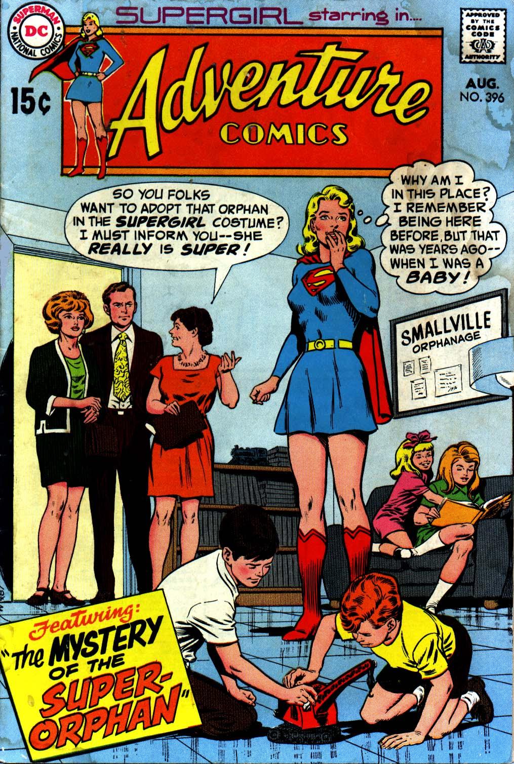 Read online Adventure Comics (1938) comic -  Issue #396 - 1