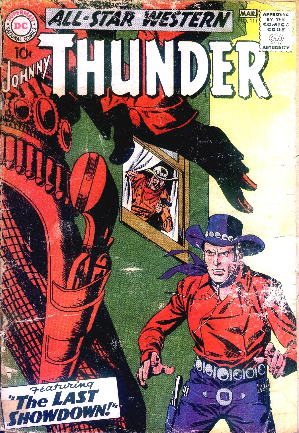 Read online All-Star Western (1951) comic -  Issue #111 - 1