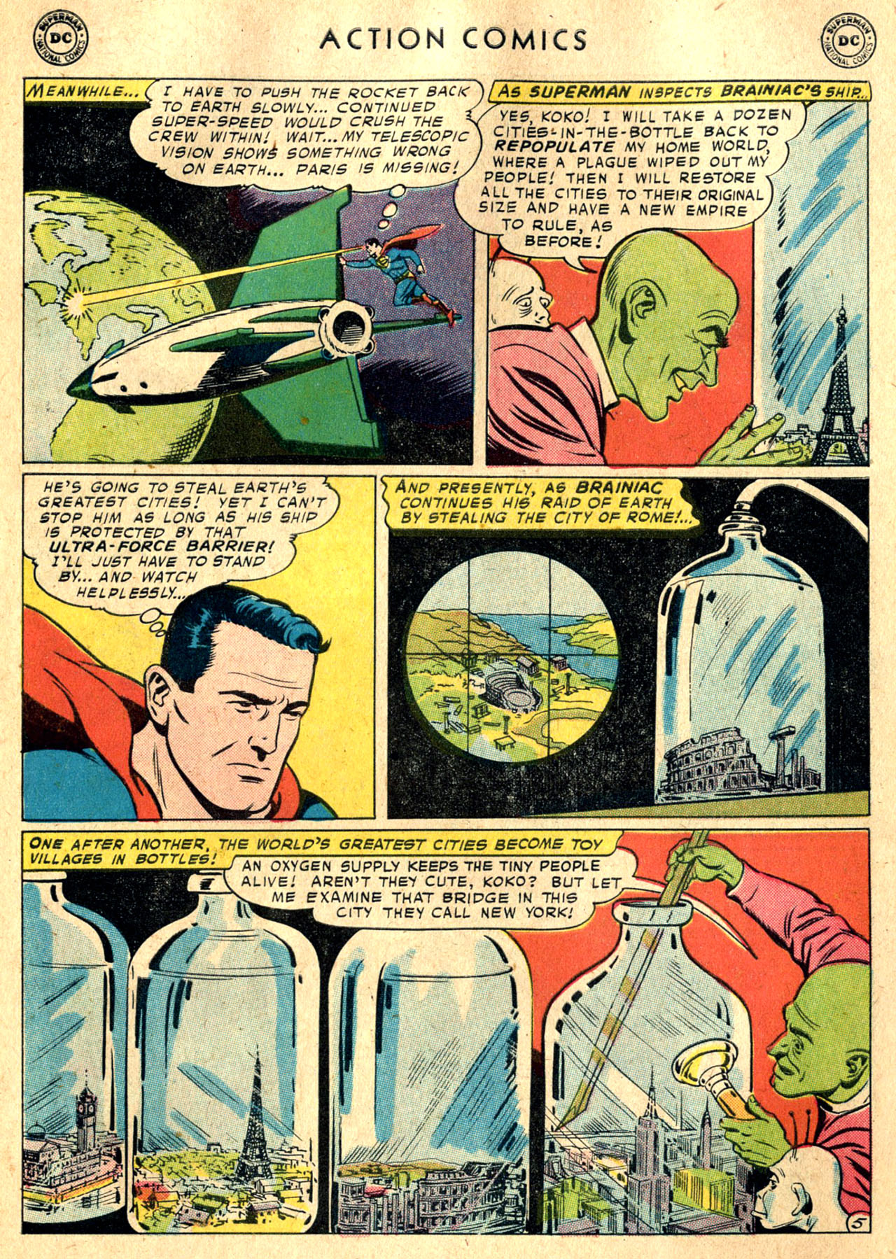 Read online Action Comics (1938) comic -  Issue #242 - 7