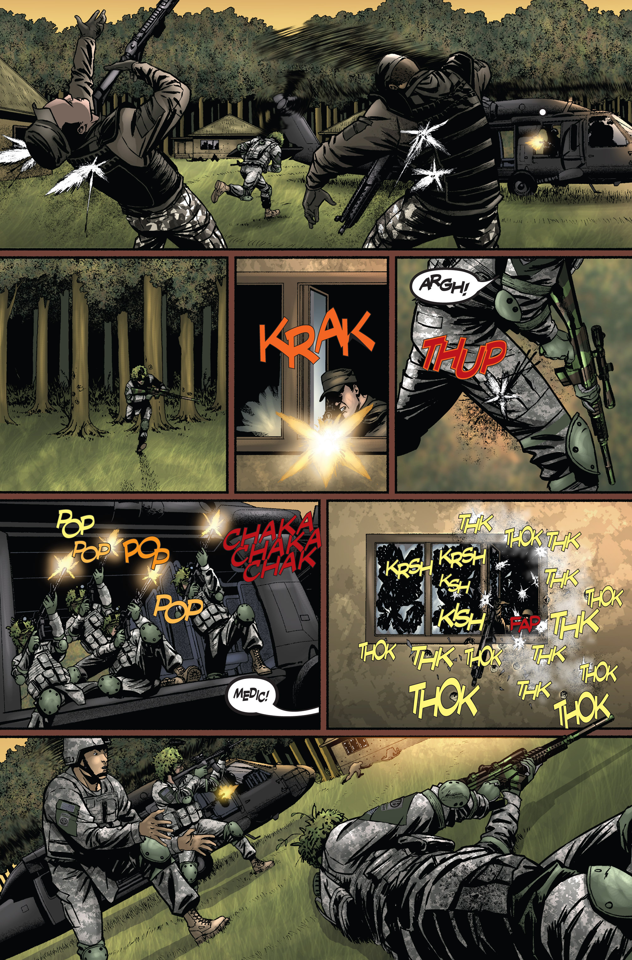Read online America's Army comic -  Issue #1 - 23
