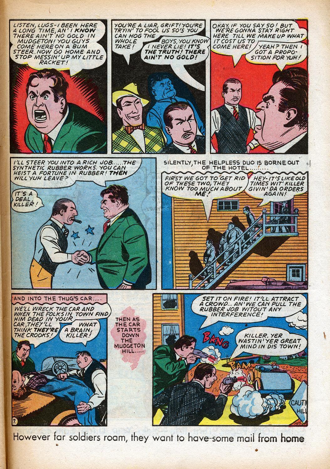 Read online Sensation (Mystery) Comics comic -  Issue #33 - 47