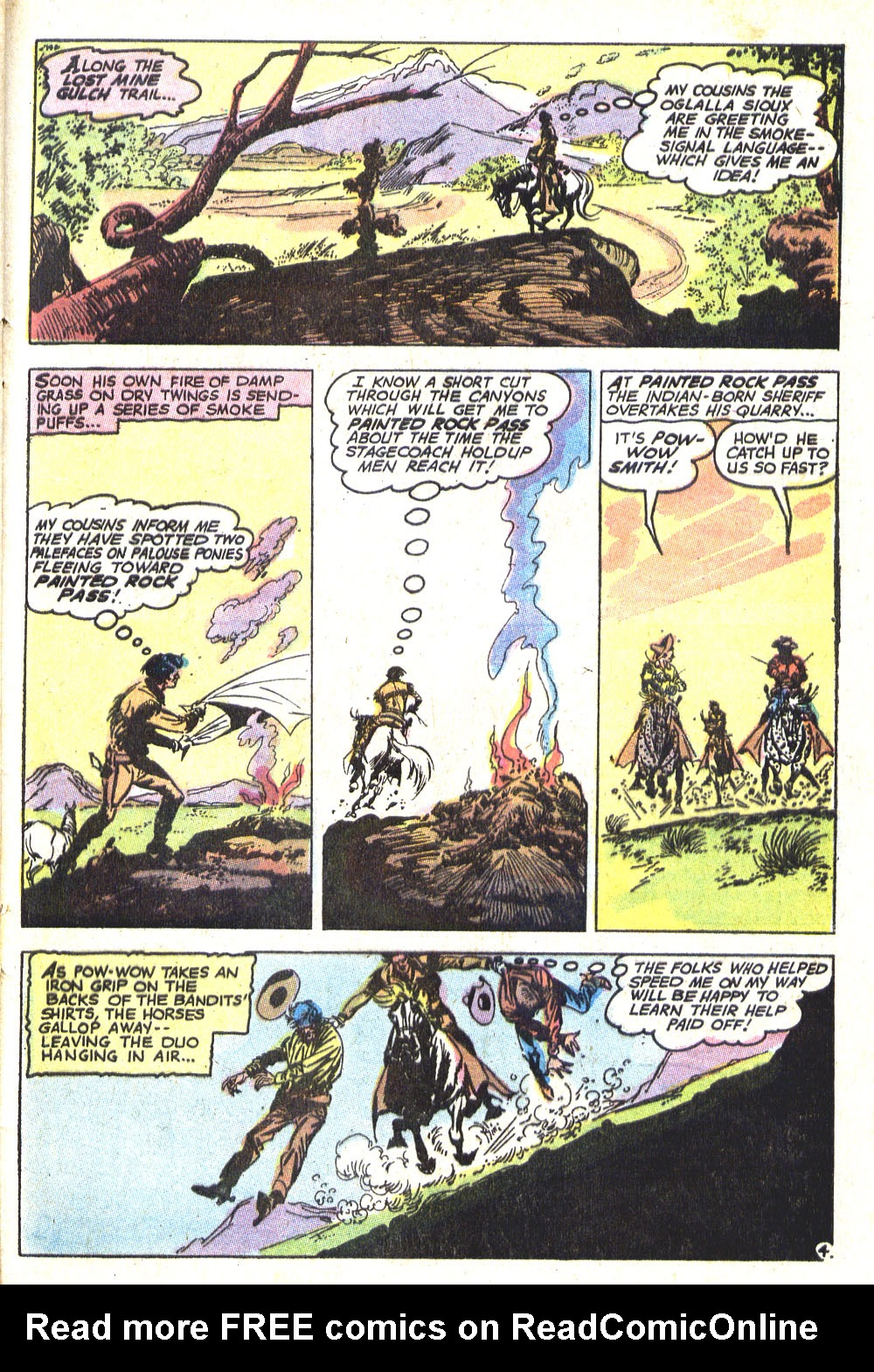 Read online All-Star Western (1970) comic -  Issue #8 - 31