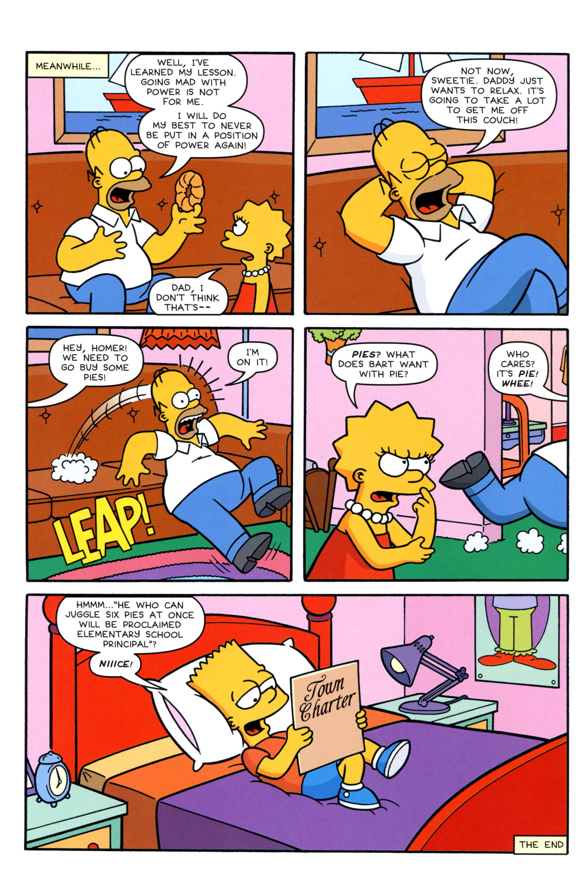 Read online Simpsons Comics comic -  Issue #210 - 24