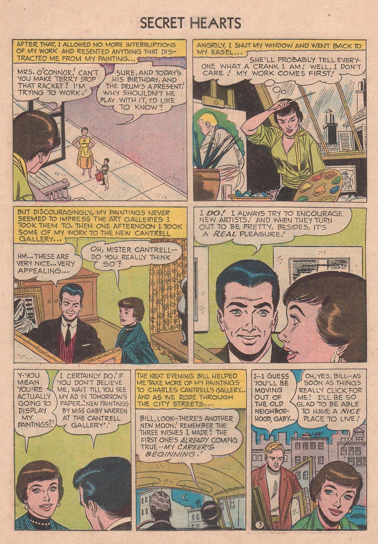 Read online Secret Hearts comic -  Issue #39 - 12