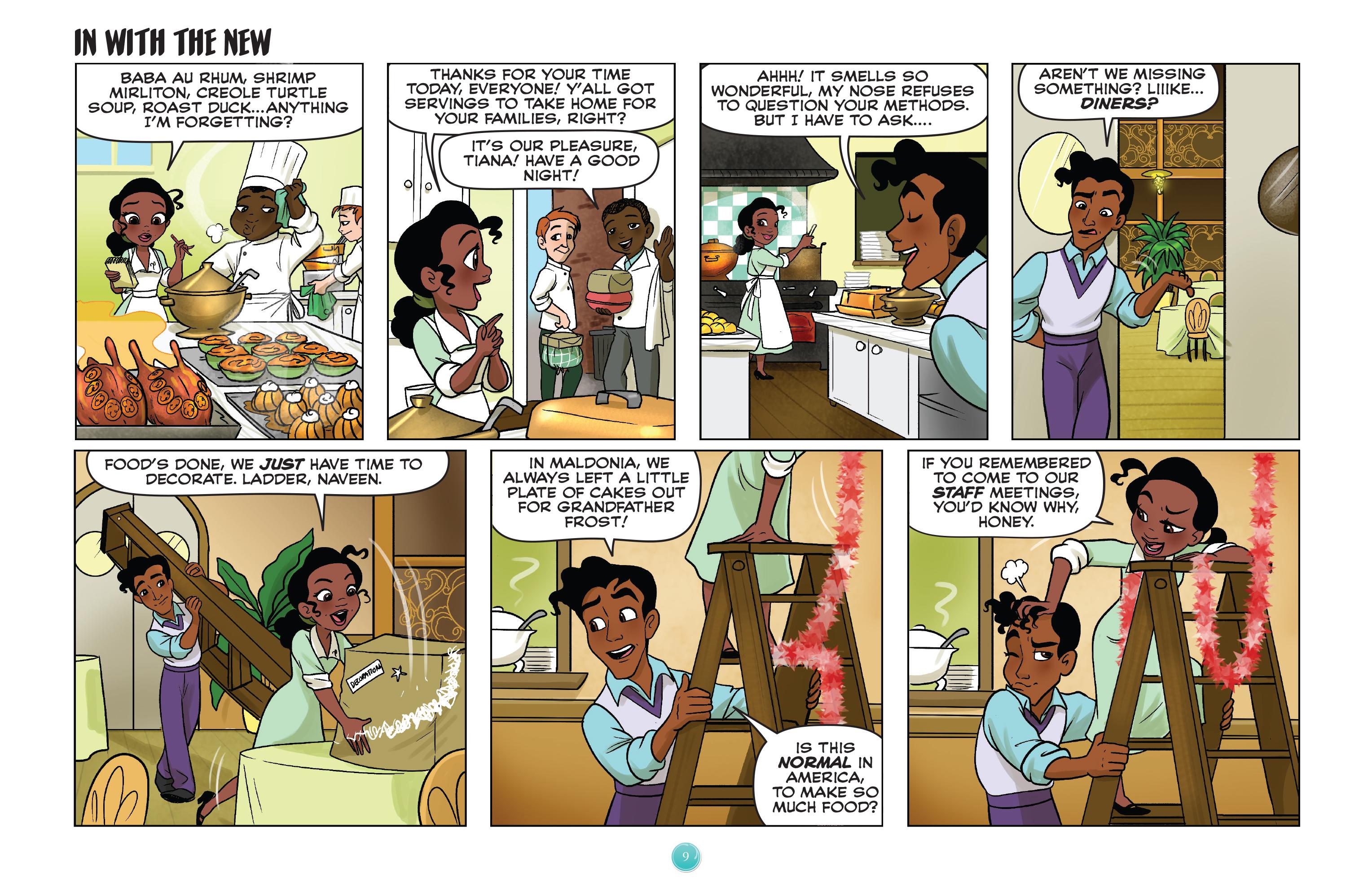 Read online Disney Princess comic -  Issue #8 - 9