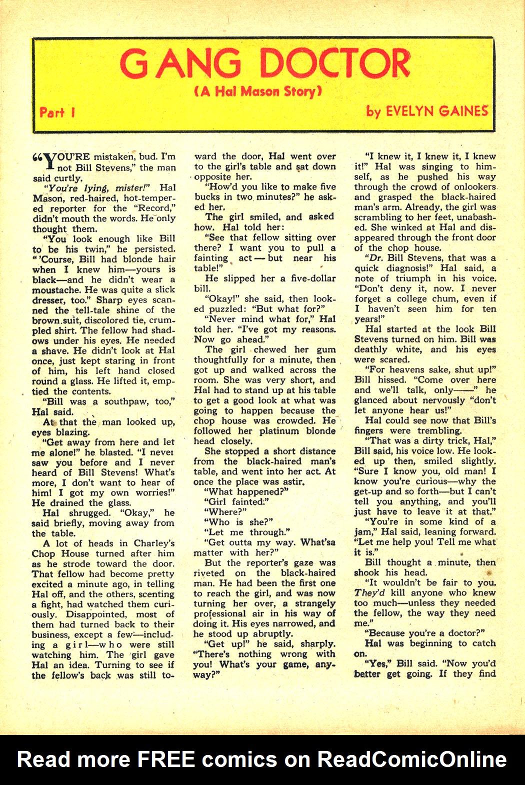Read online Sensation (Mystery) Comics comic -  Issue #8 - 46