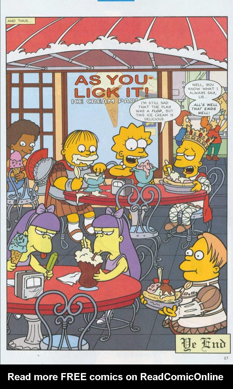 Read online Simpsons Comics comic -  Issue #76 - 28