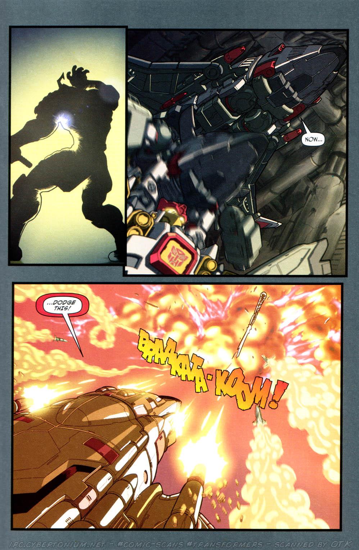 Read online Transformers Armada comic -  Issue #16 - 19