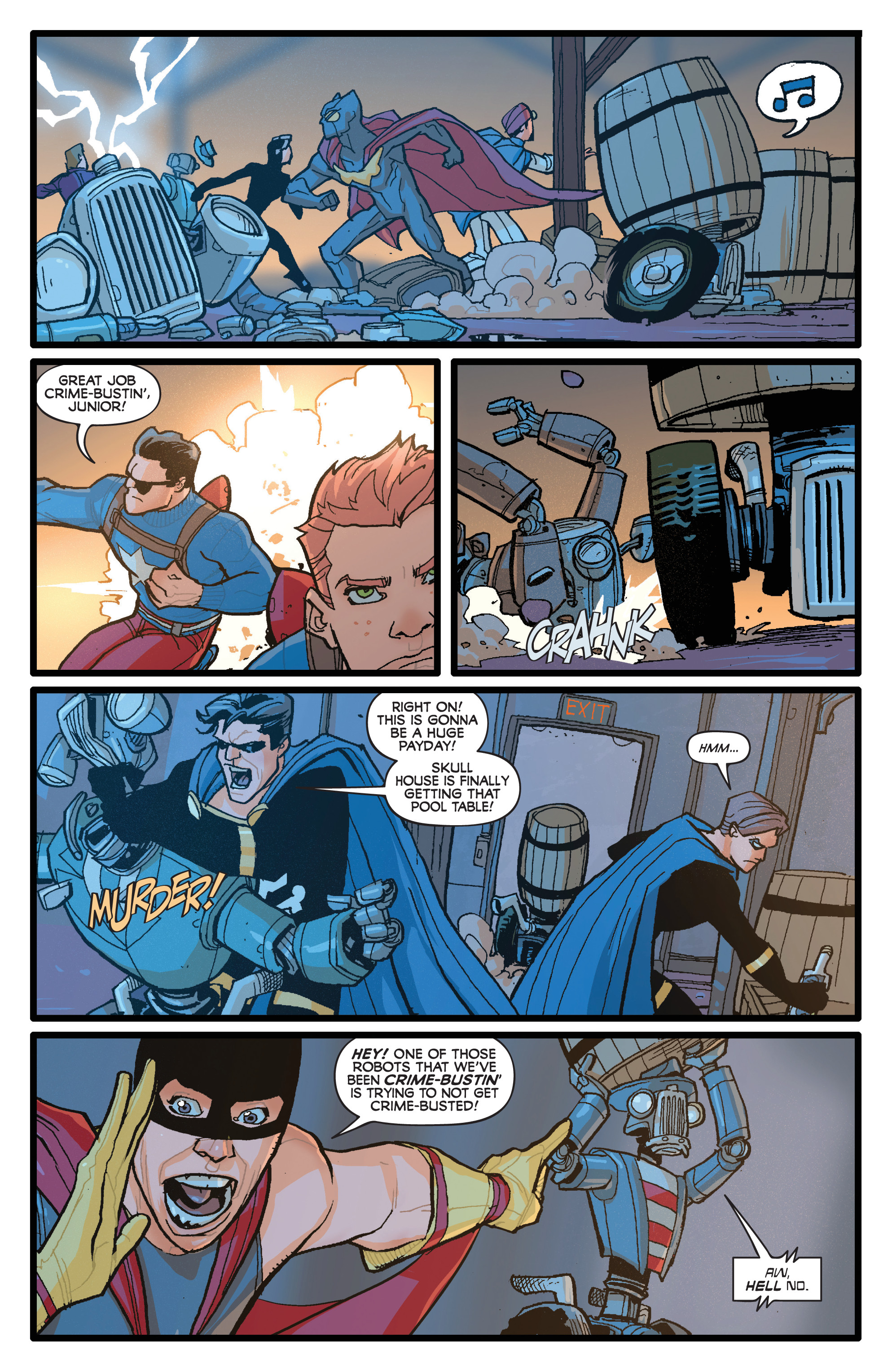 Read online Project Superpowers: Hero Killers comic -  Issue #1 - 9