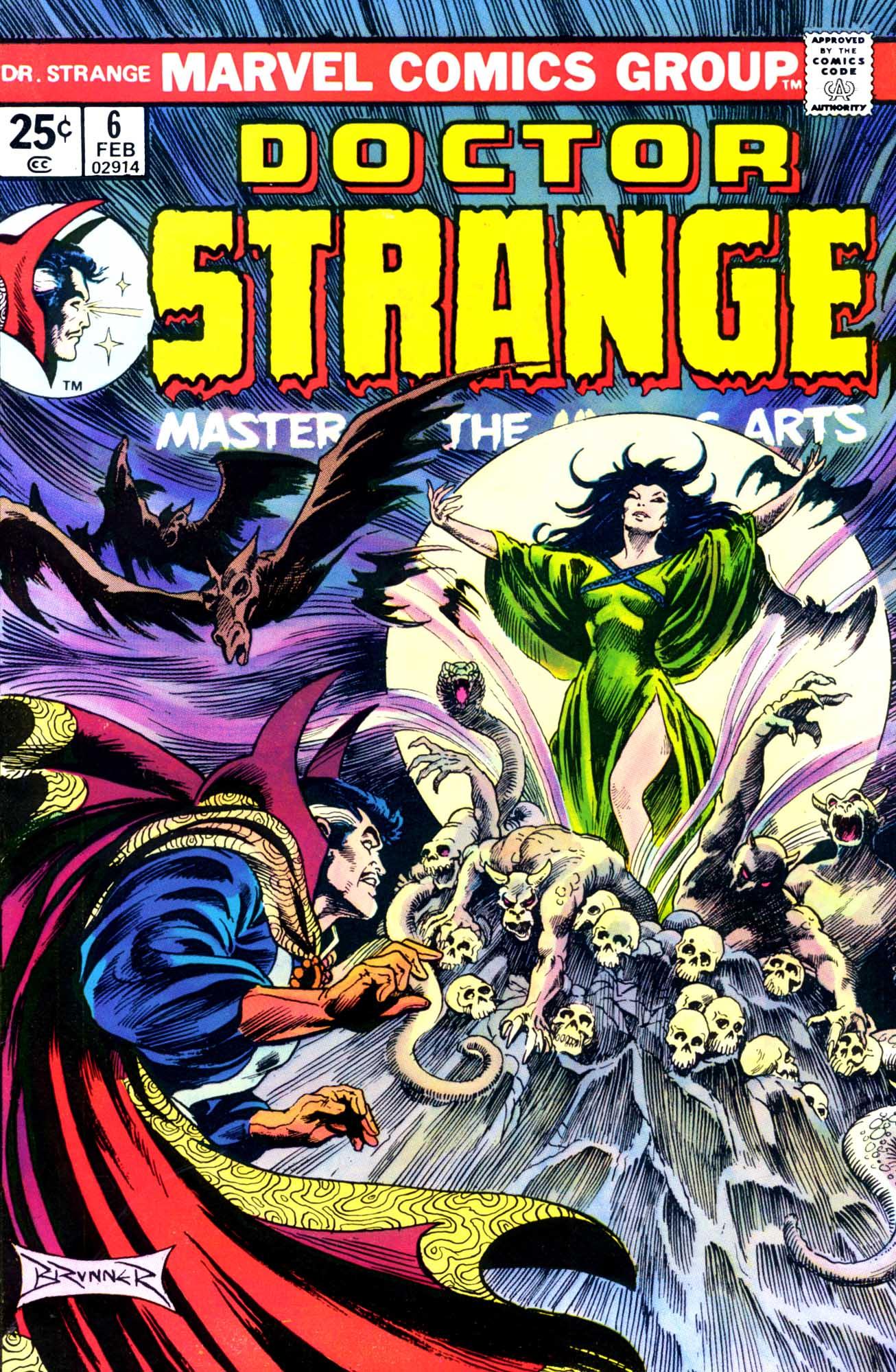 Doctor Strange (1974) 6 Page 1