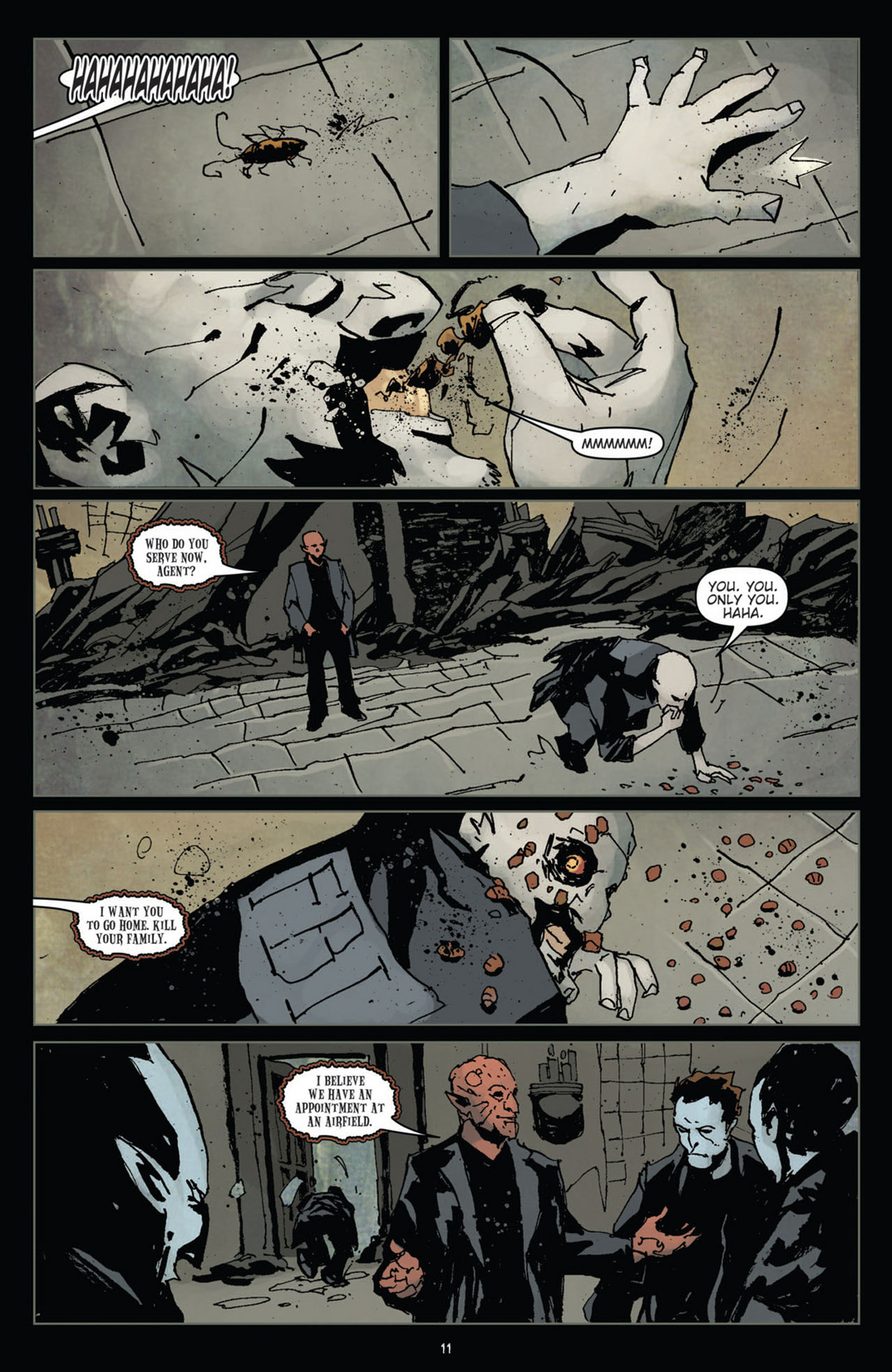Read online 30 Days of Night (2011) comic -  Issue #11 - 13
