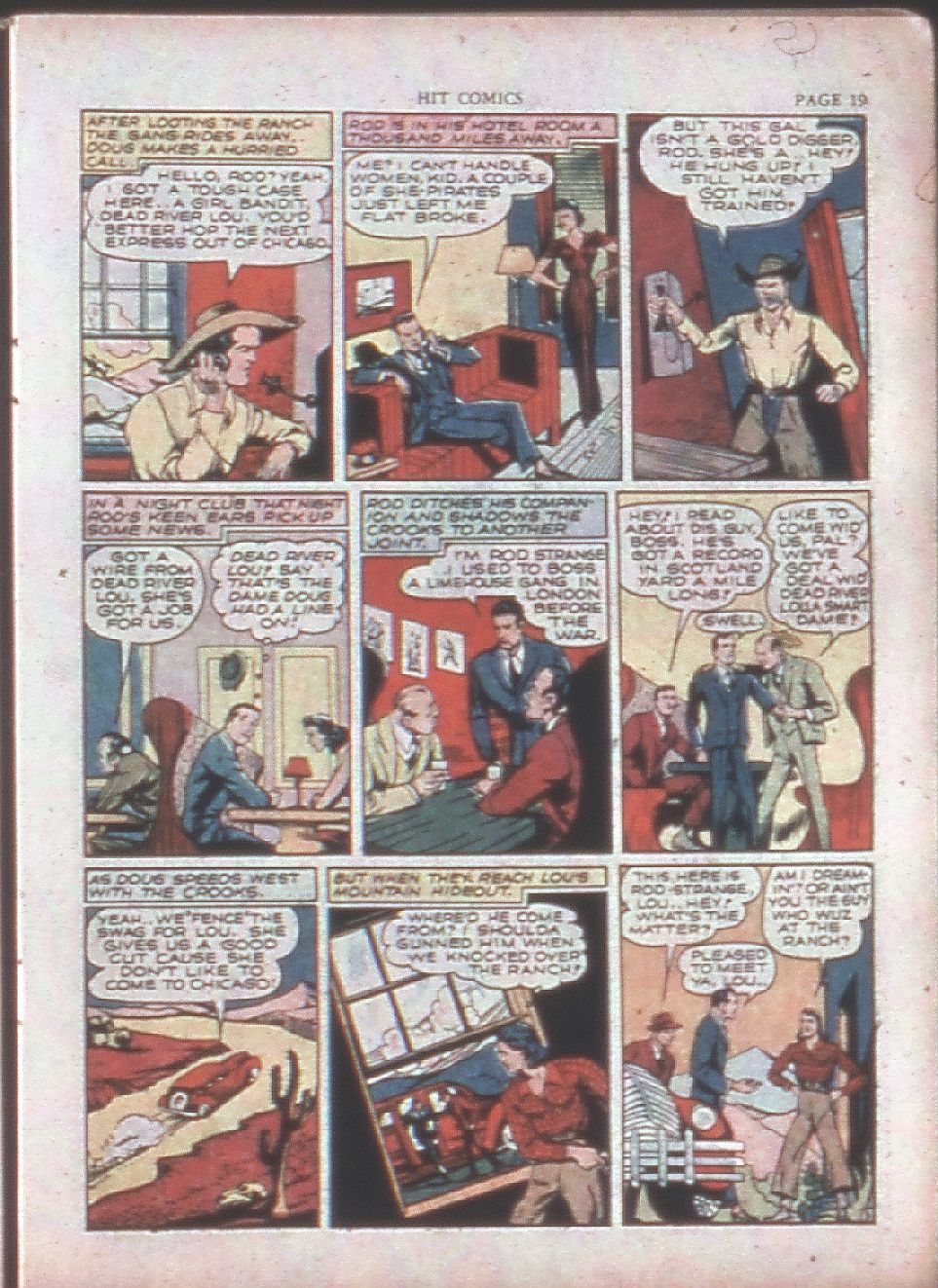Read online Hit Comics comic -  Issue #15 - 21