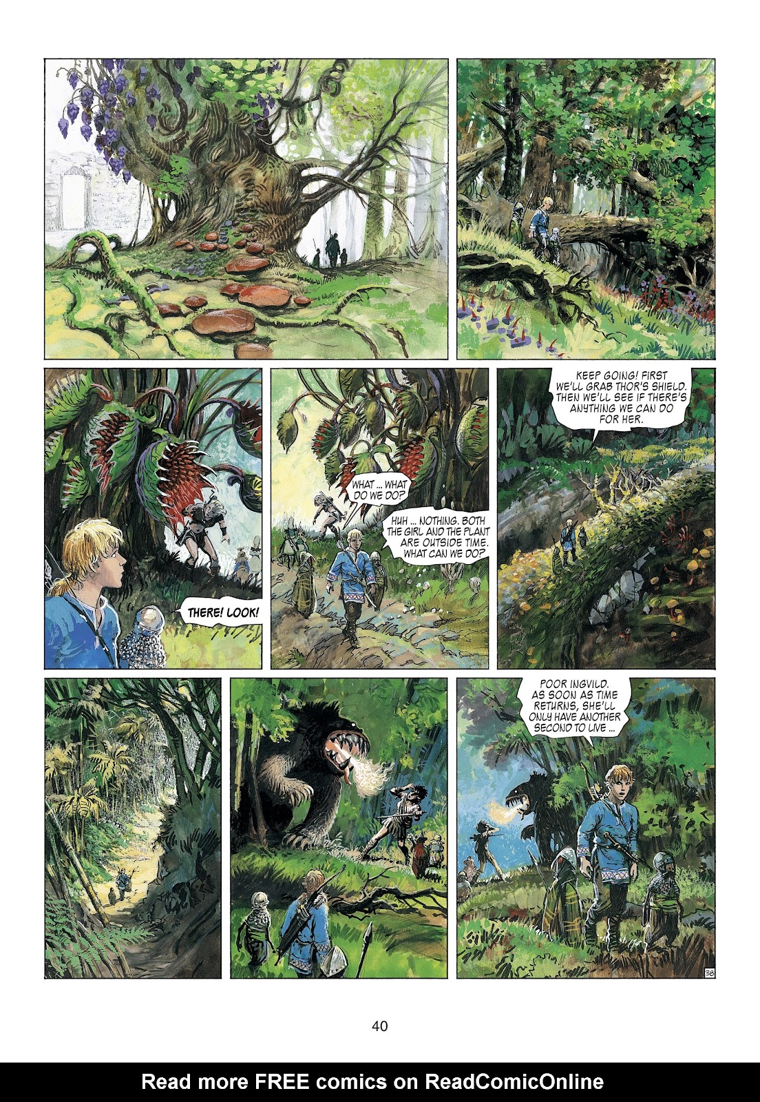 Read online Thorgal comic -  Issue #23 - 42