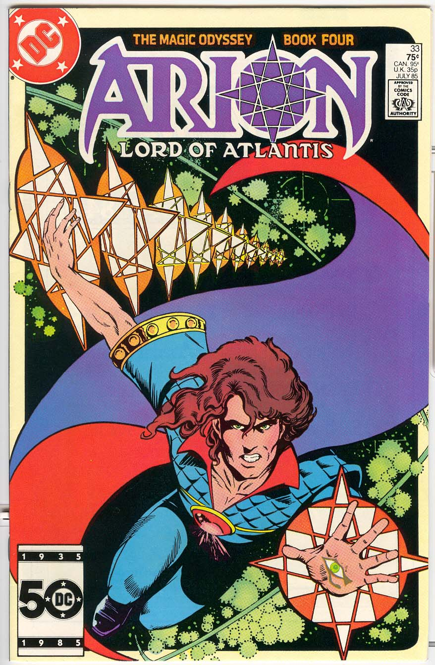 Read online Arion, Lord of Atlantis comic -  Issue #33 - 1