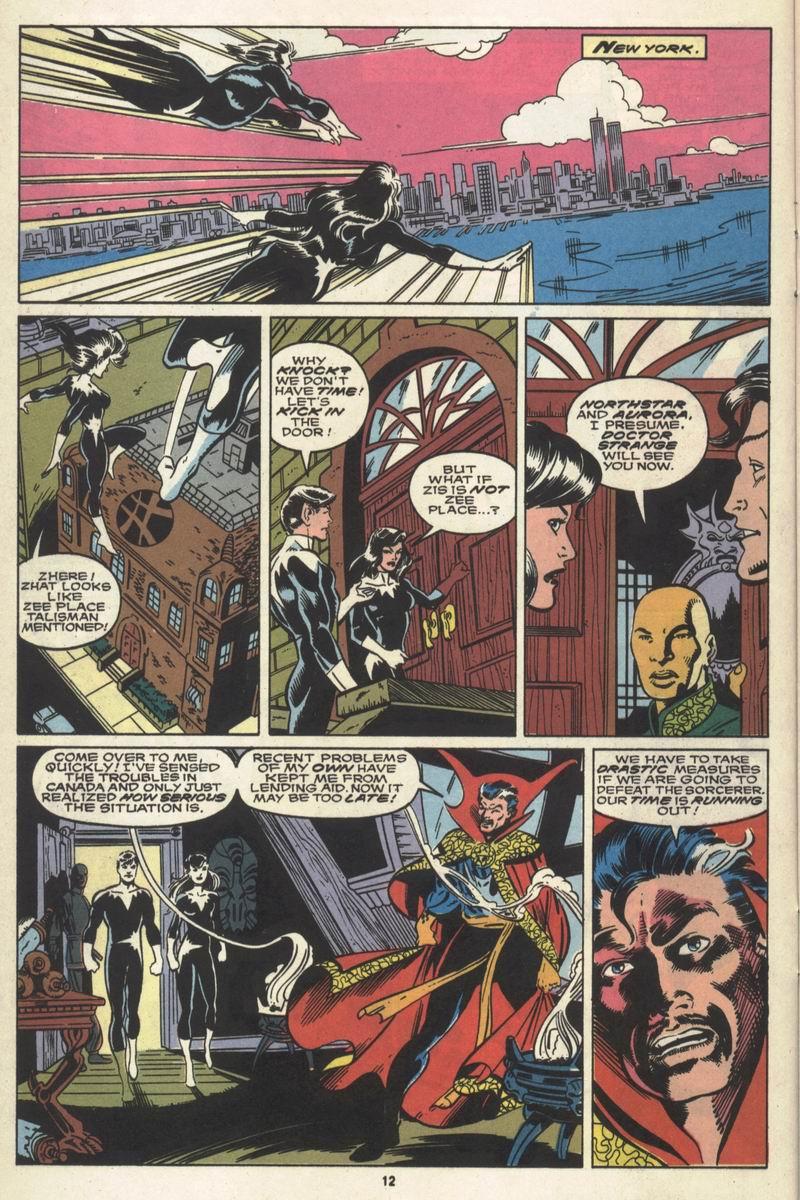 Read online Alpha Flight (1983) comic -  Issue #86 - 10