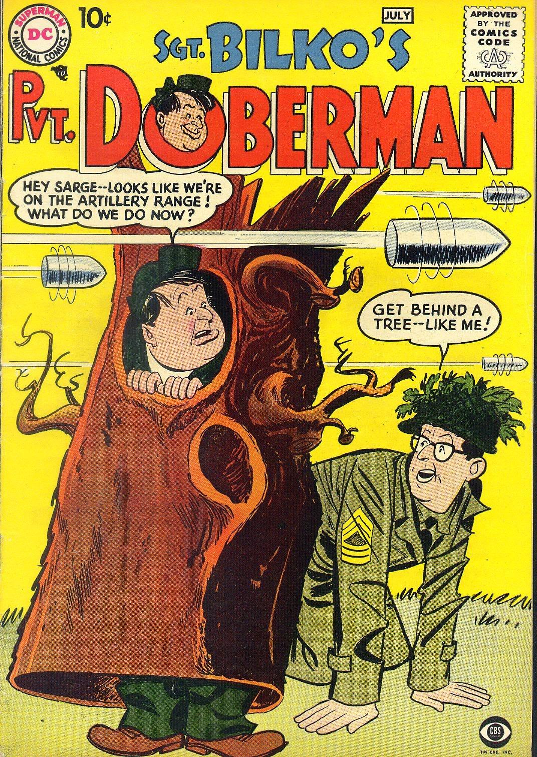 Sgt. Bilko's Pvt. Doberman issue 1 - Page 1
