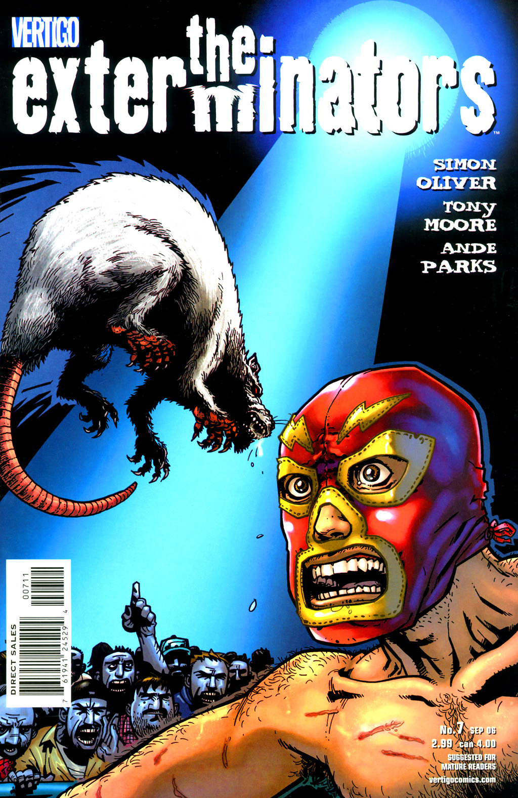 Read online The Exterminators comic -  Issue #7 - 1