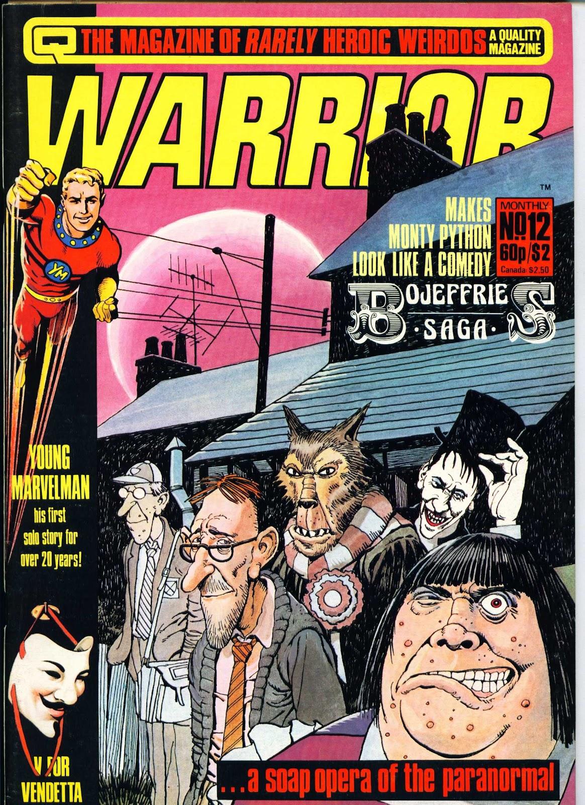 Warrior Issue #12 #13 - English 1