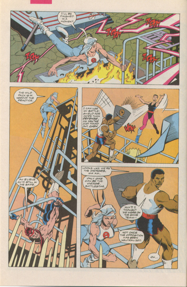 Read online Silver Sable and the Wild Pack comic -  Issue #6 - 5