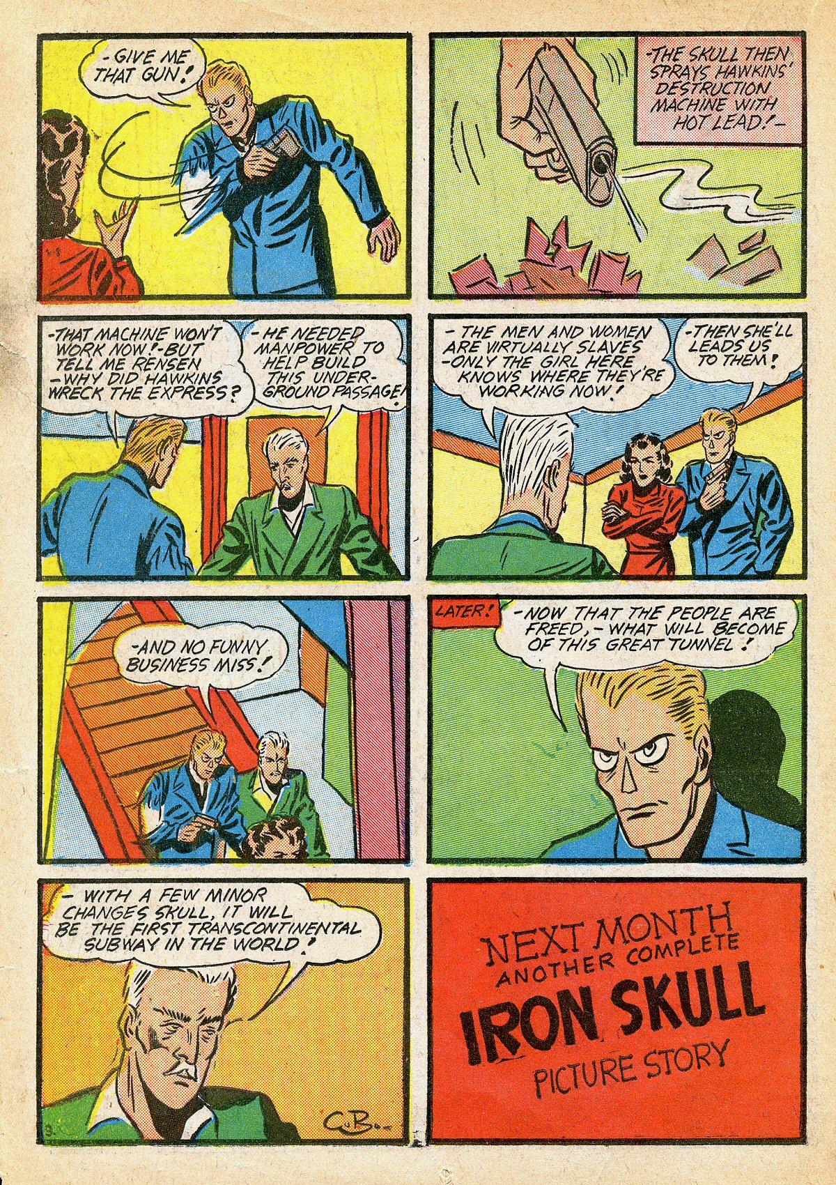 Read online Amazing Man Comics comic -  Issue #10 - 35