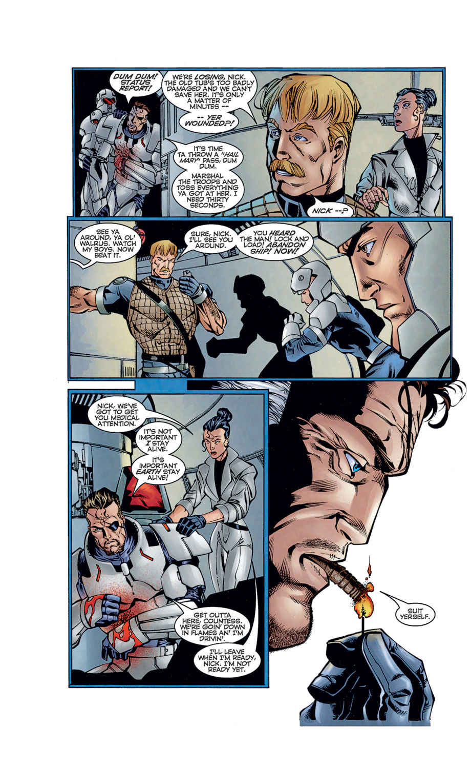 Read online Avengers (1996) comic -  Issue #12 - 22