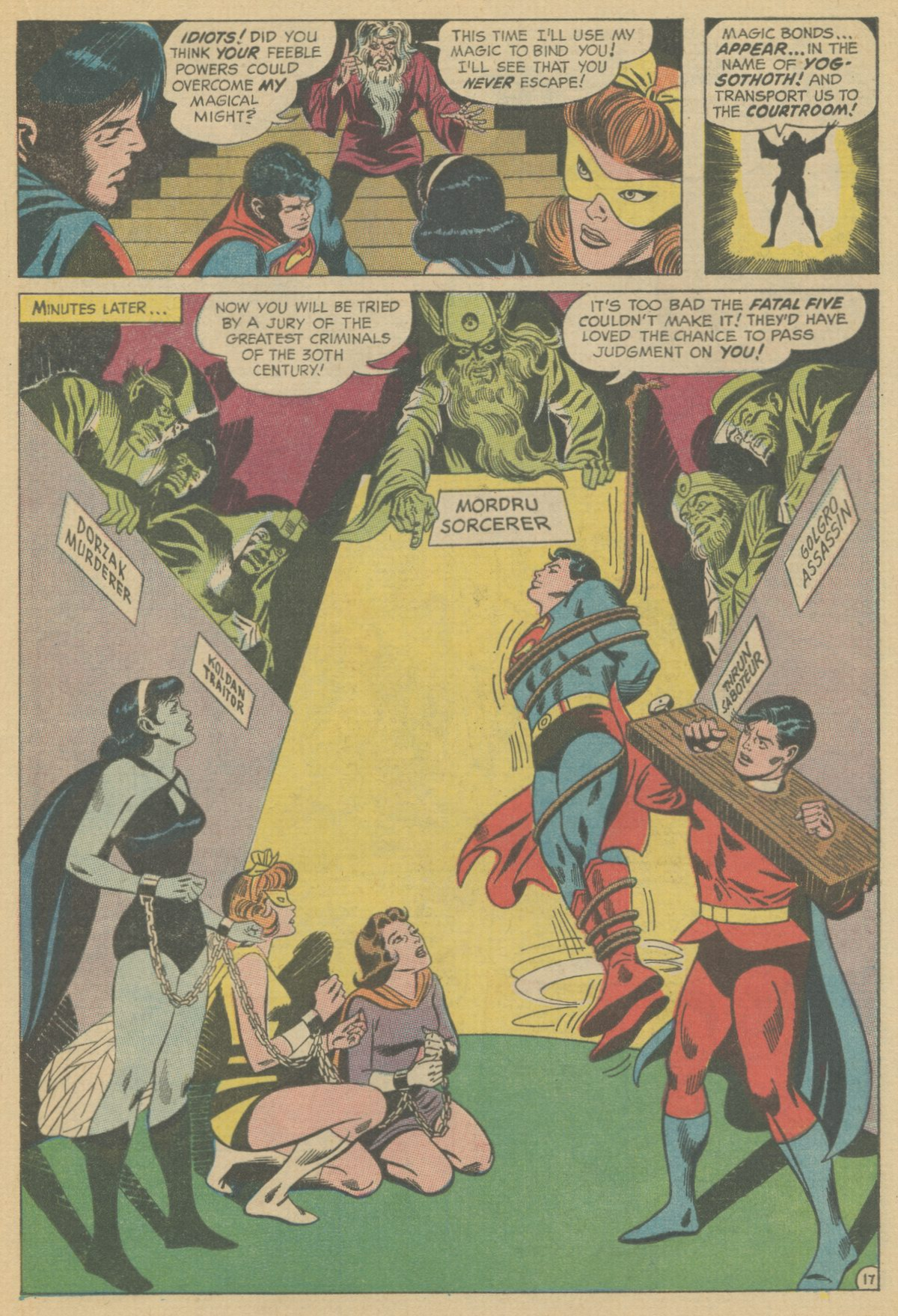 Read online Adventure Comics (1938) comic -  Issue #370 - 21