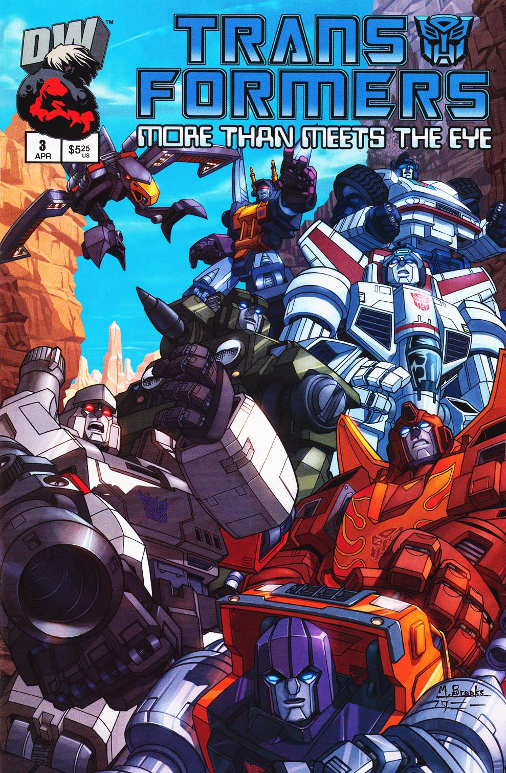 Read online Transformers: More than Meets the Eye comic -  Issue #3 - 1
