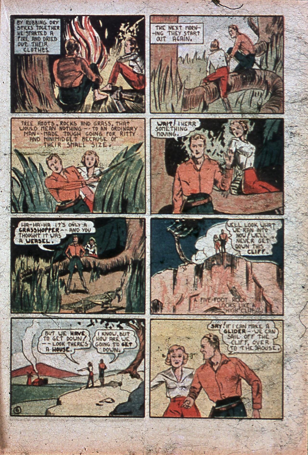 Read online Amazing Man Comics comic -  Issue #7 - 42
