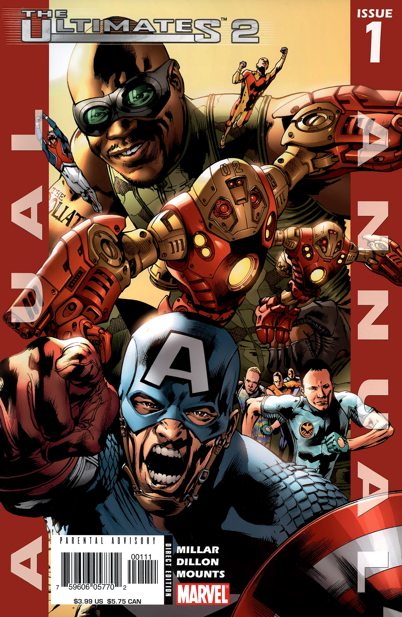 Read online Ultimates 2 comic -  Issue # _Annual 1 - 1