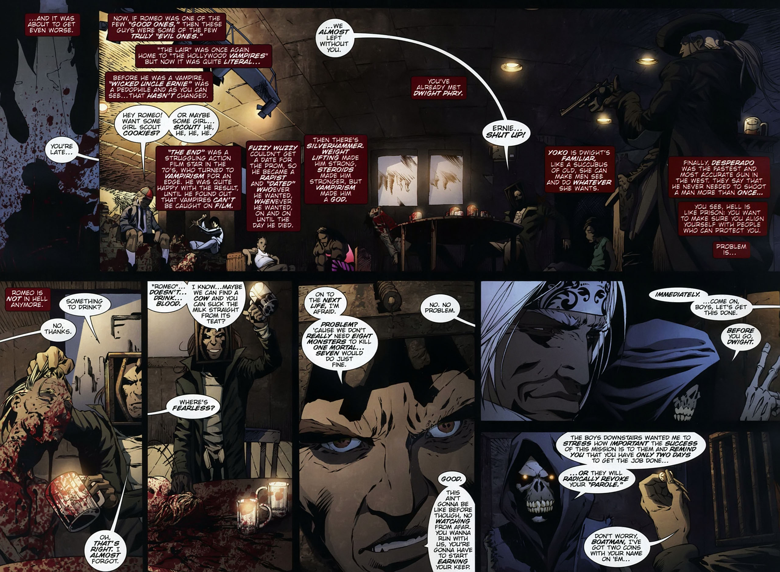Read online Dead Romeo comic -  Issue #1 - 14
