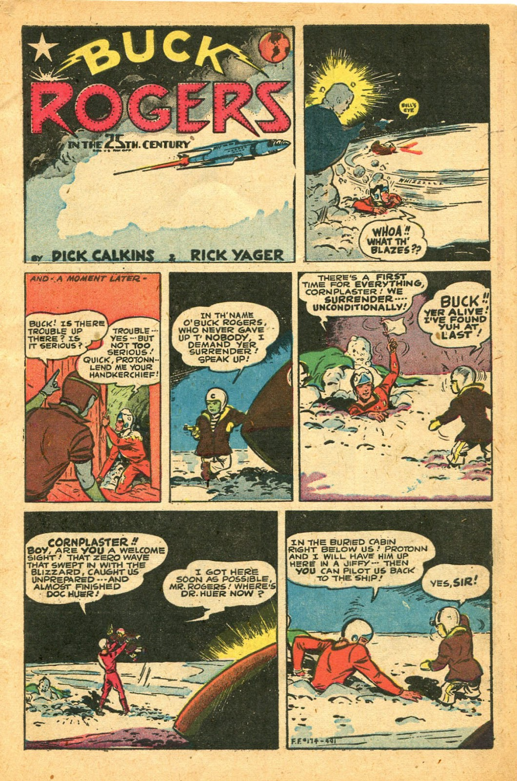 Read online Famous Funnies comic -  Issue #174 - 3