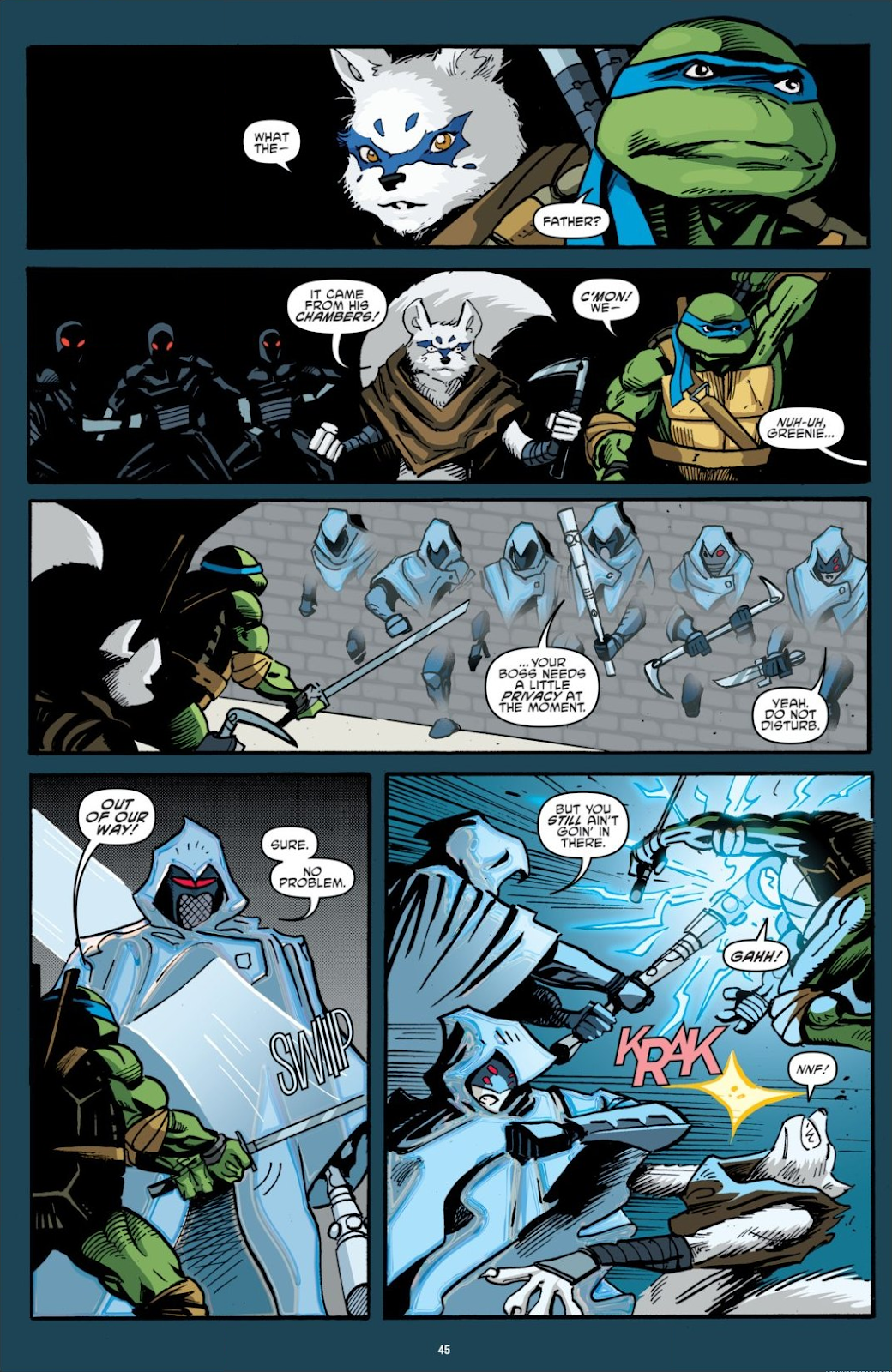 Read online Teenage Mutant Ninja Turtles: The IDW Collection comic -  Issue # TPB 7 (Part 1) - 45