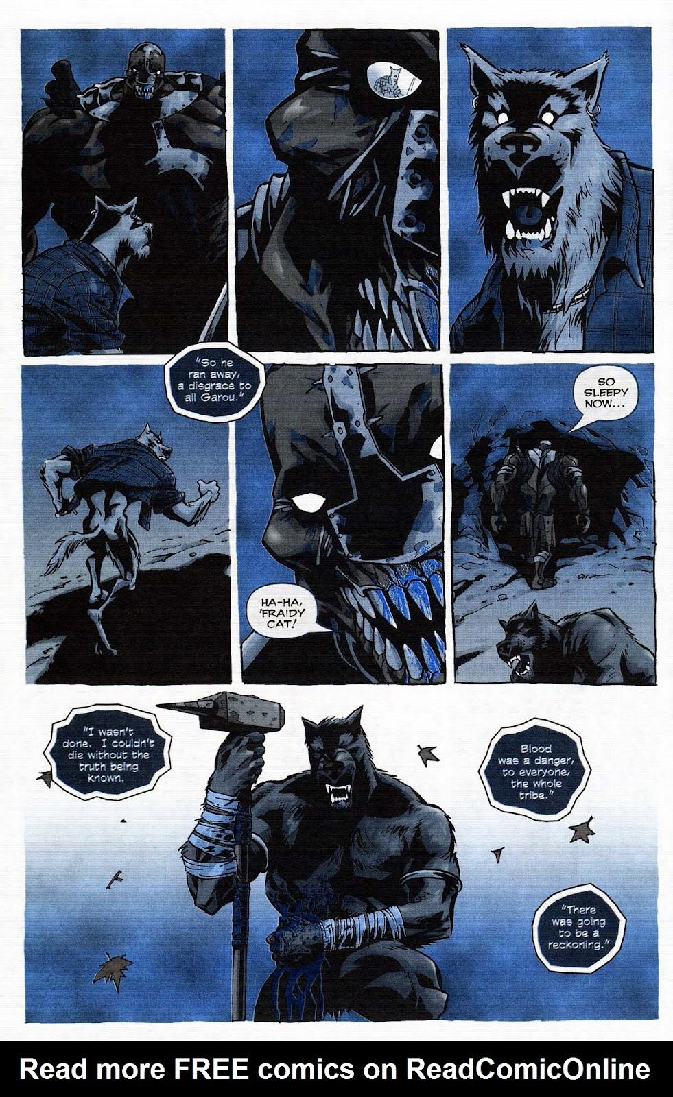 Read online Werewolf the Apocalypse comic -  Issue # Get of Fenris - 40