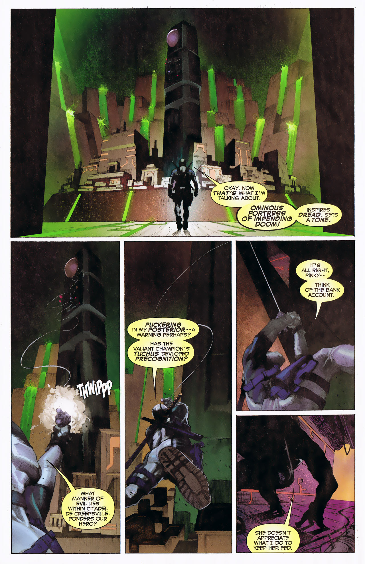Read online Uncanny X-Force: The Apocalypse Solution comic -  Issue # Full - 6